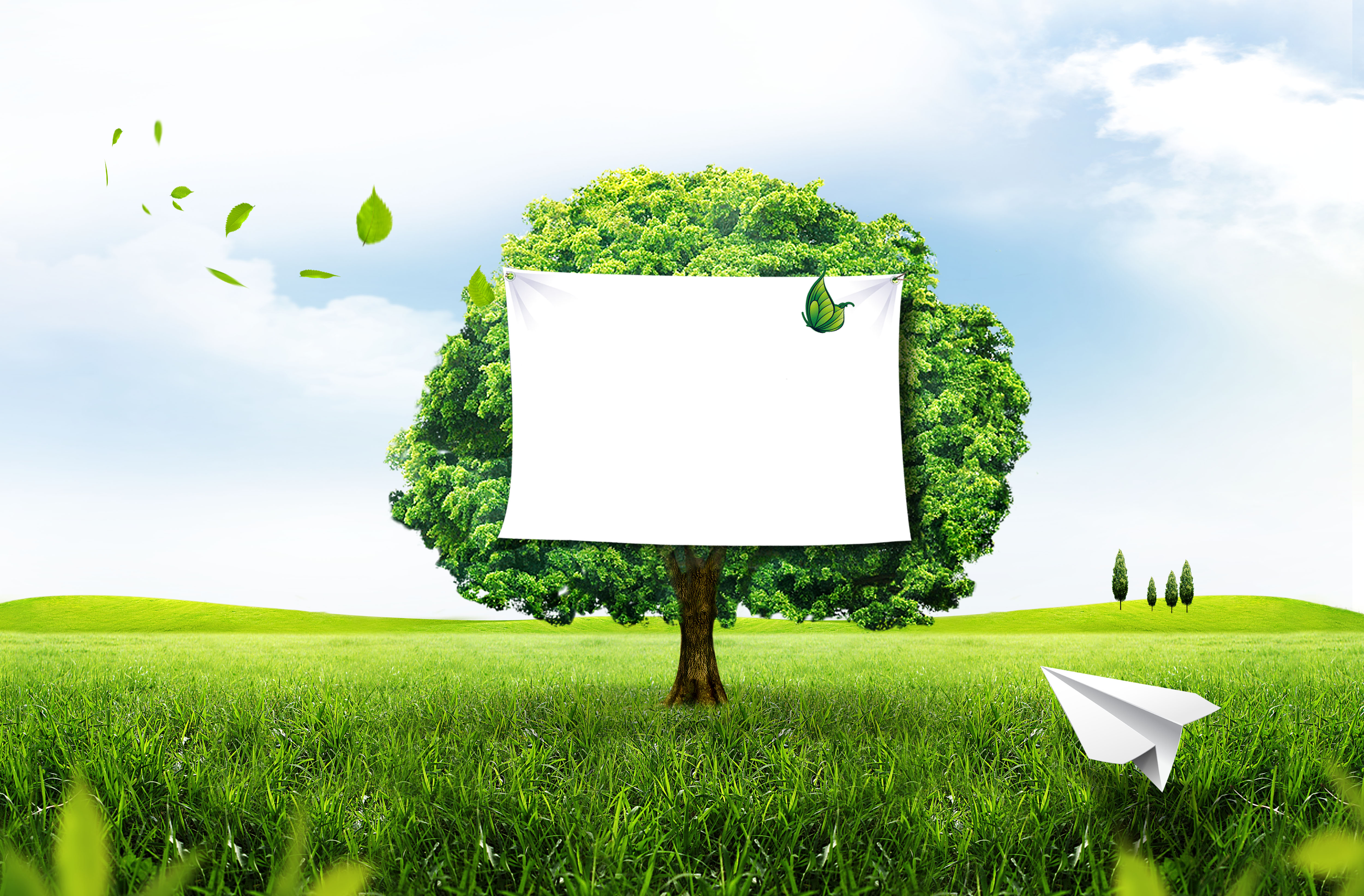 prendre soin de l environnement de fond des affiches de l