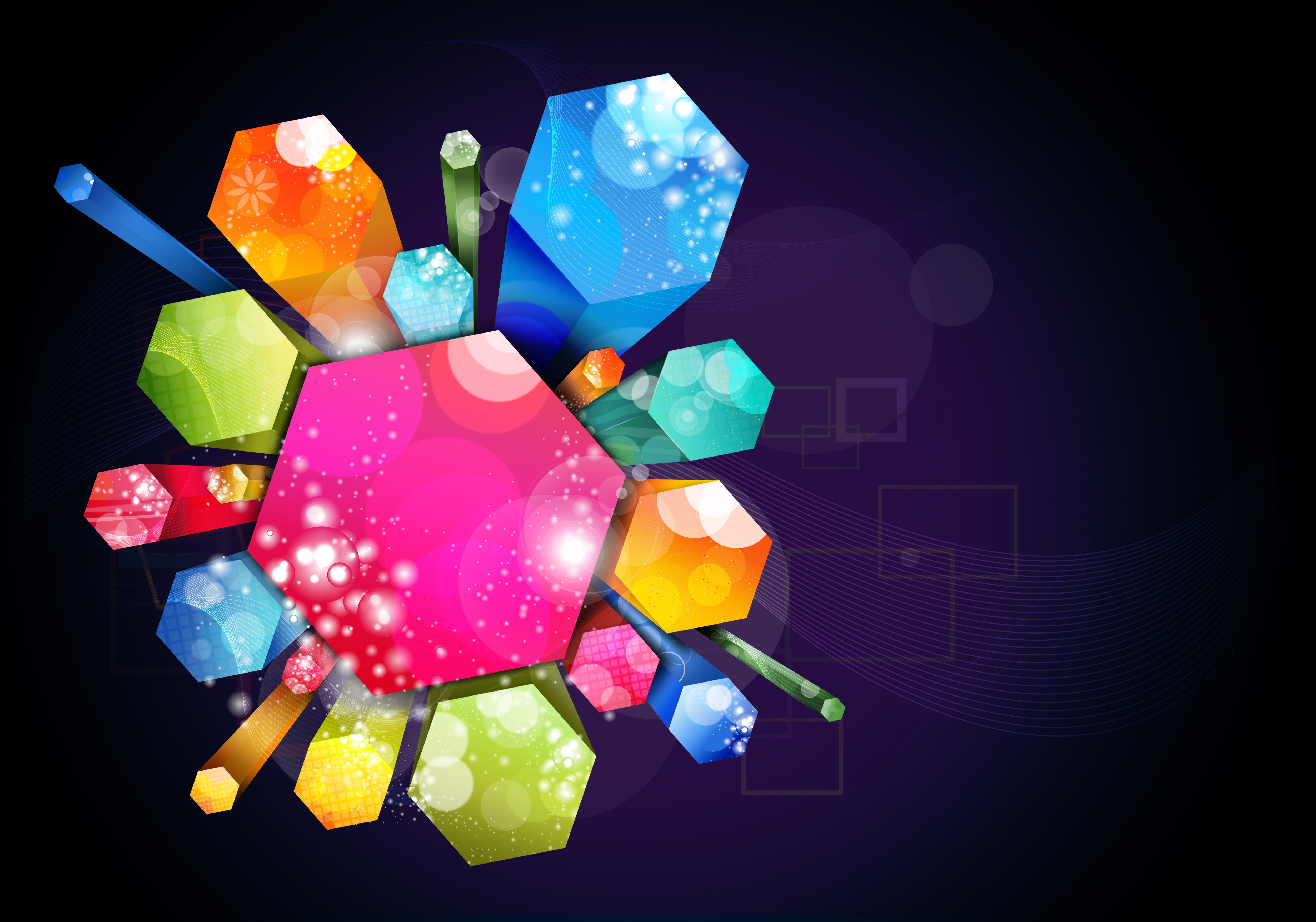 creative design background printing  creative  color  art