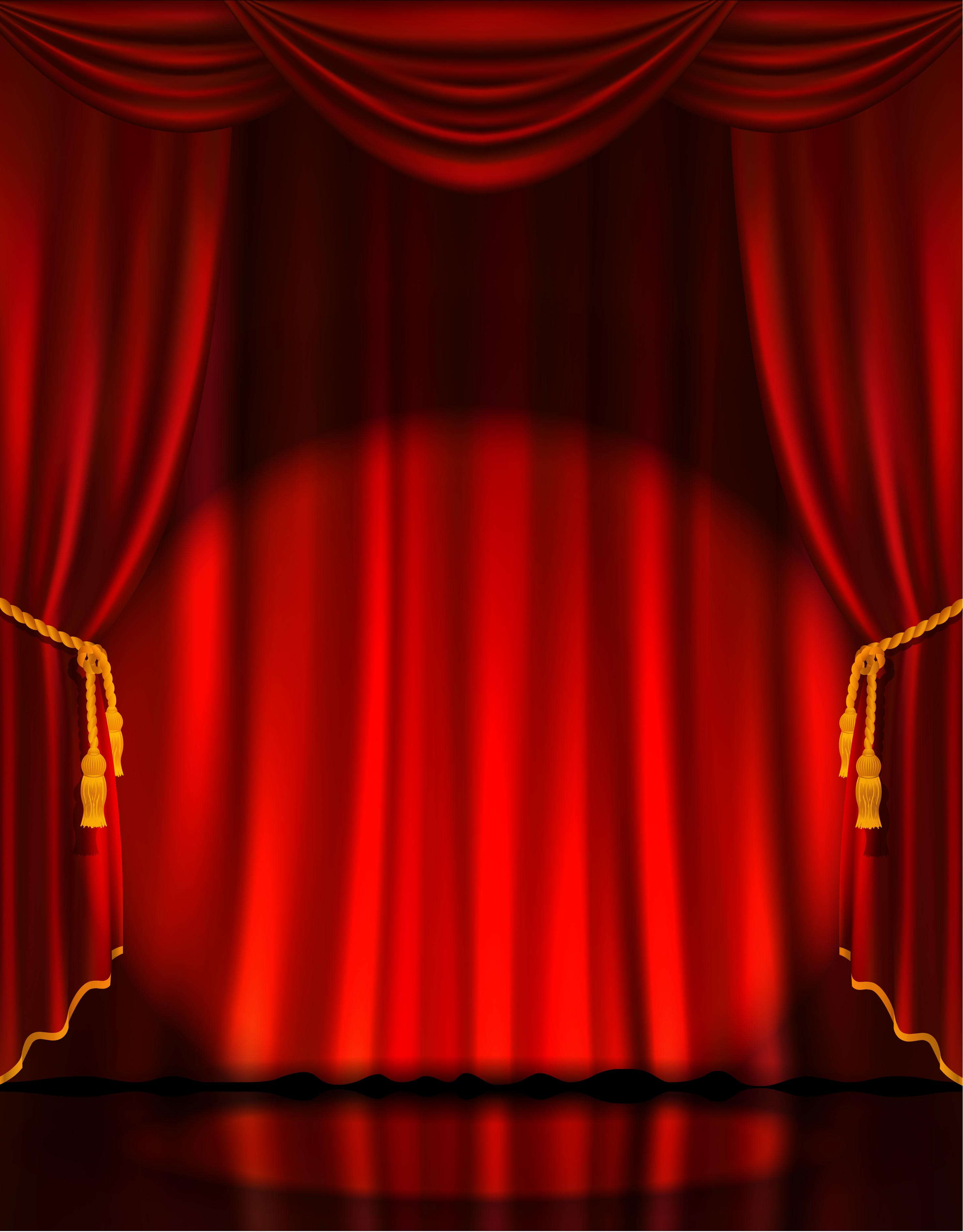 le rideau de sc u00e8ne d arri u00e8re plan de lumi u00e8re rouge r u00eave