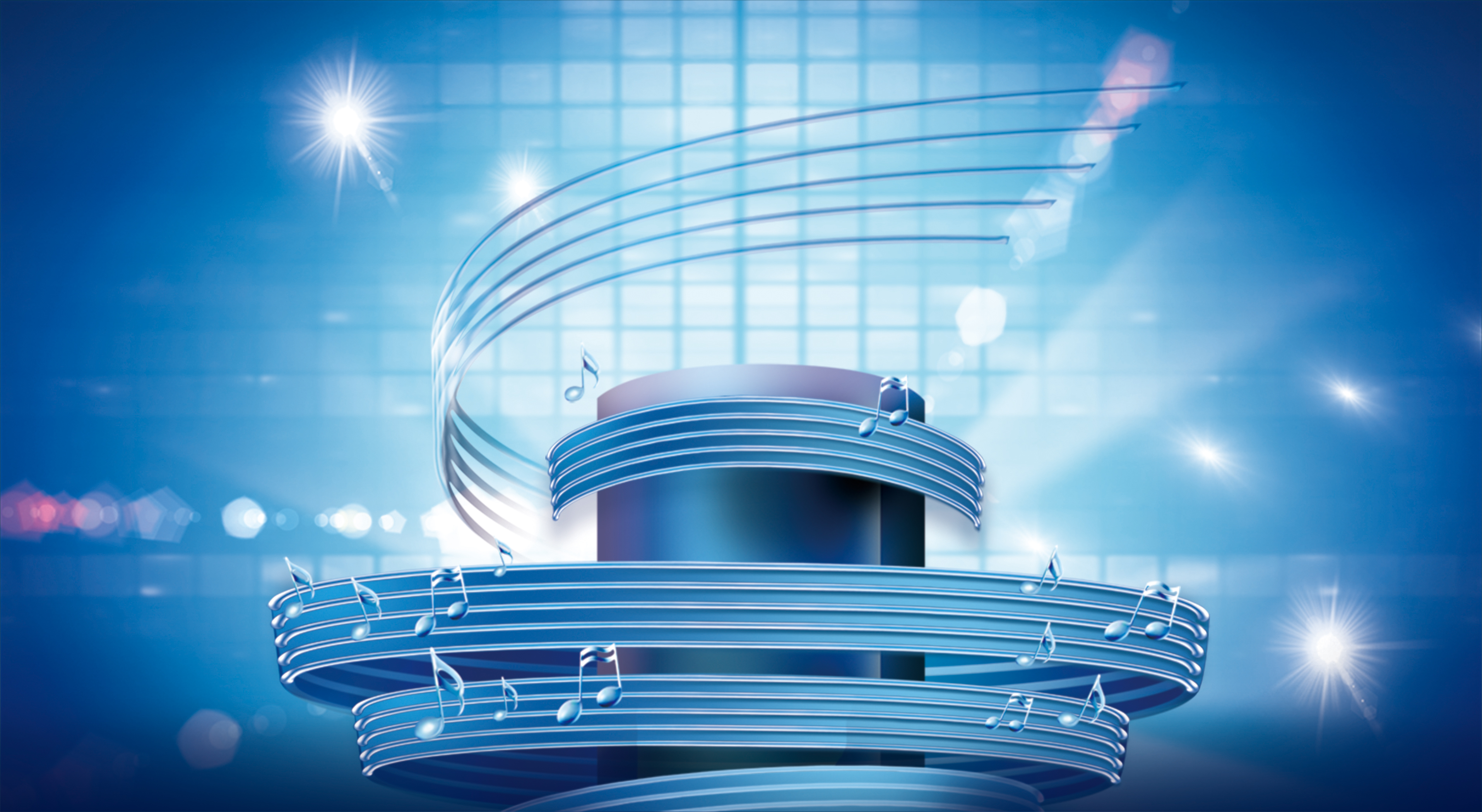 fancy music song contest poster  note  music  beautiful