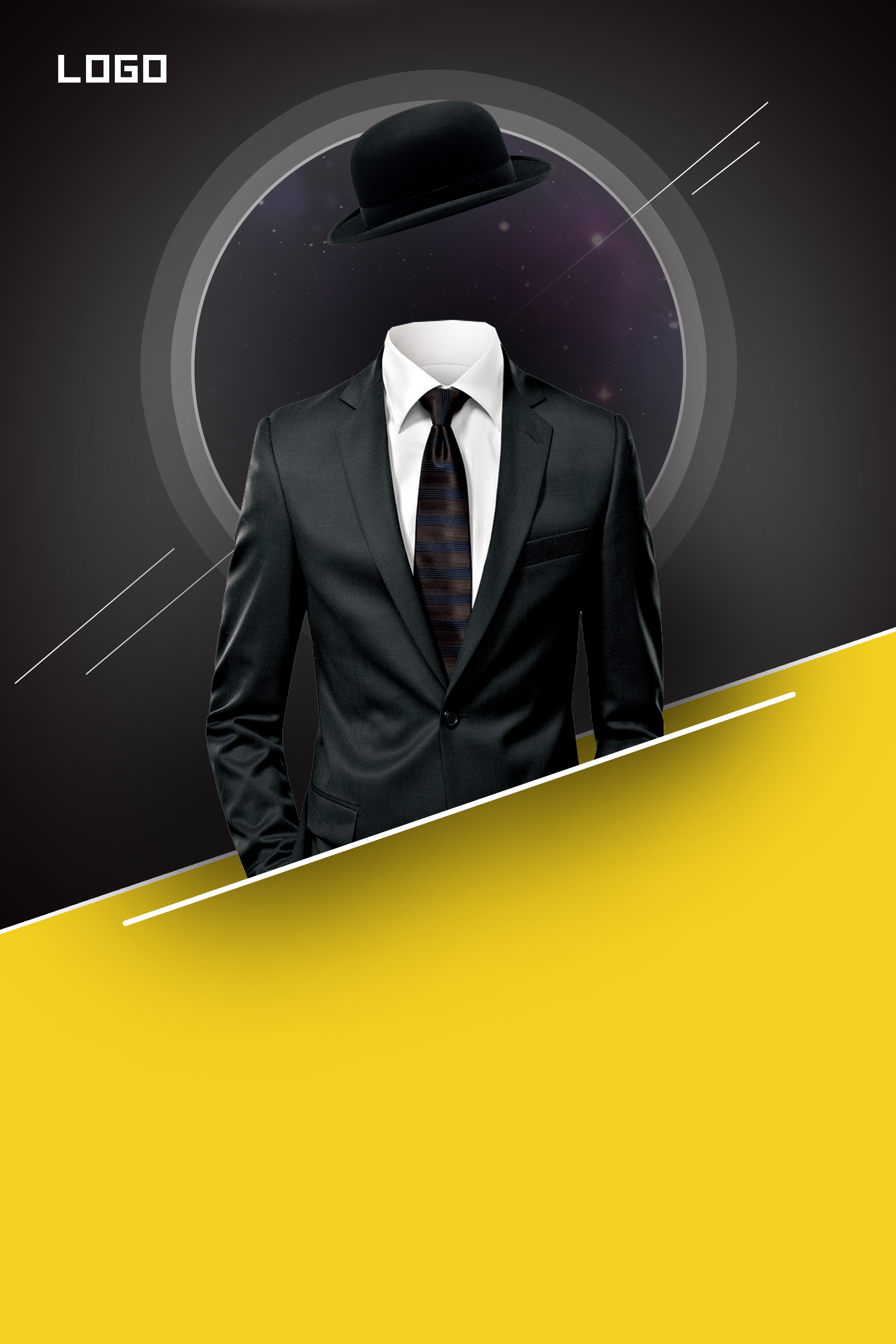 personalized business recruitment poster background  black