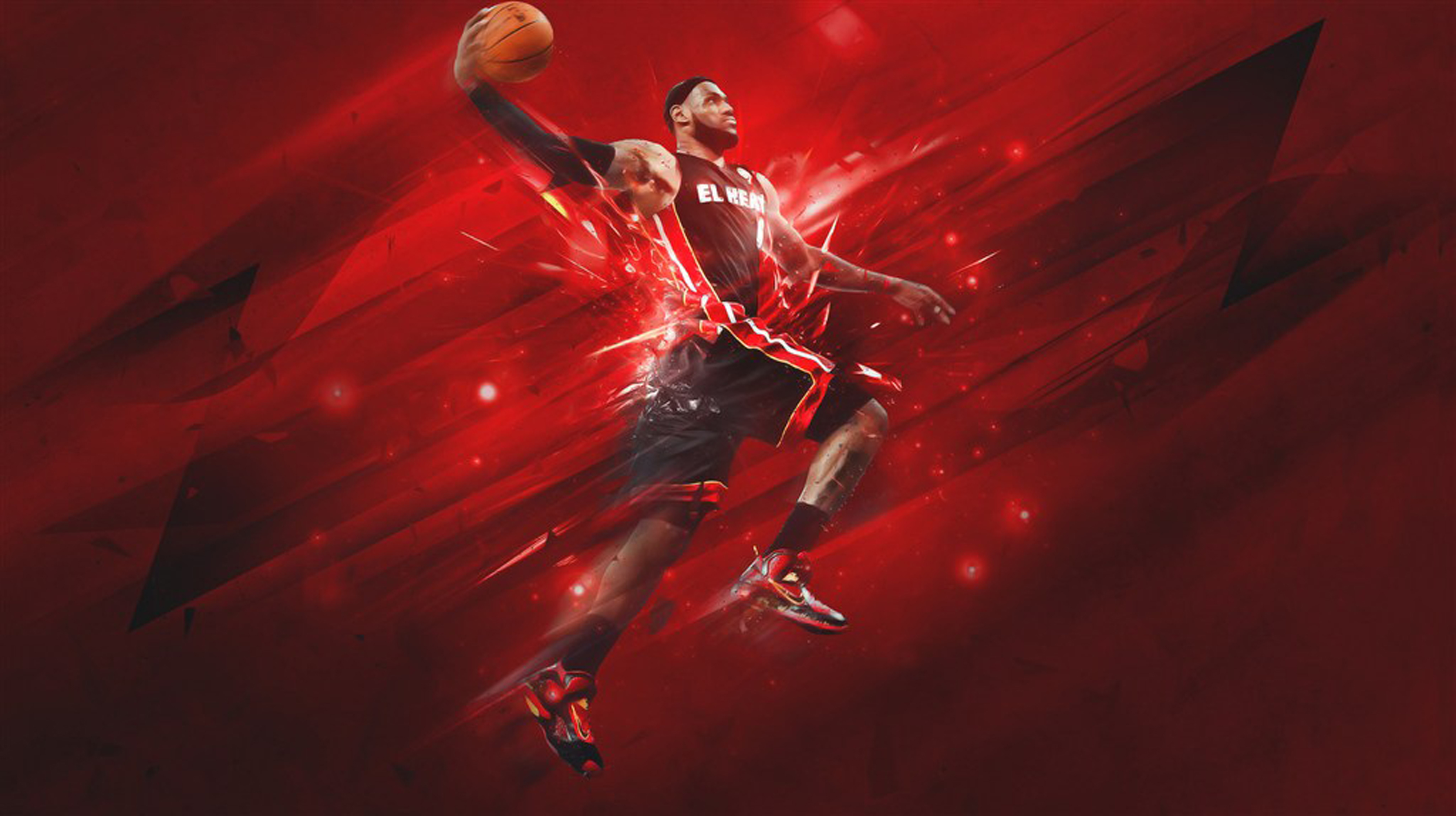 Basketball Star Lebron James Poster Background, Basketball ...
