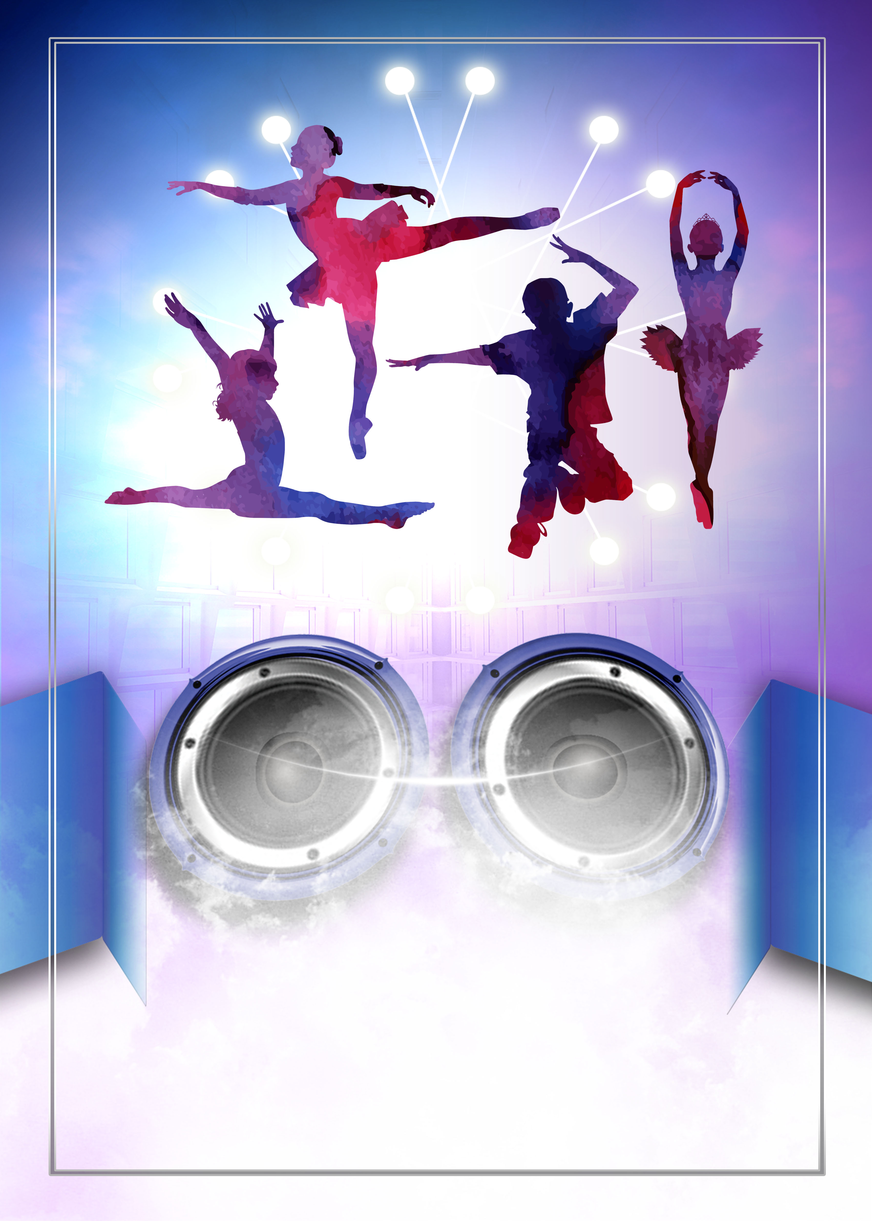 dance music poster background  dancing  music  dancer