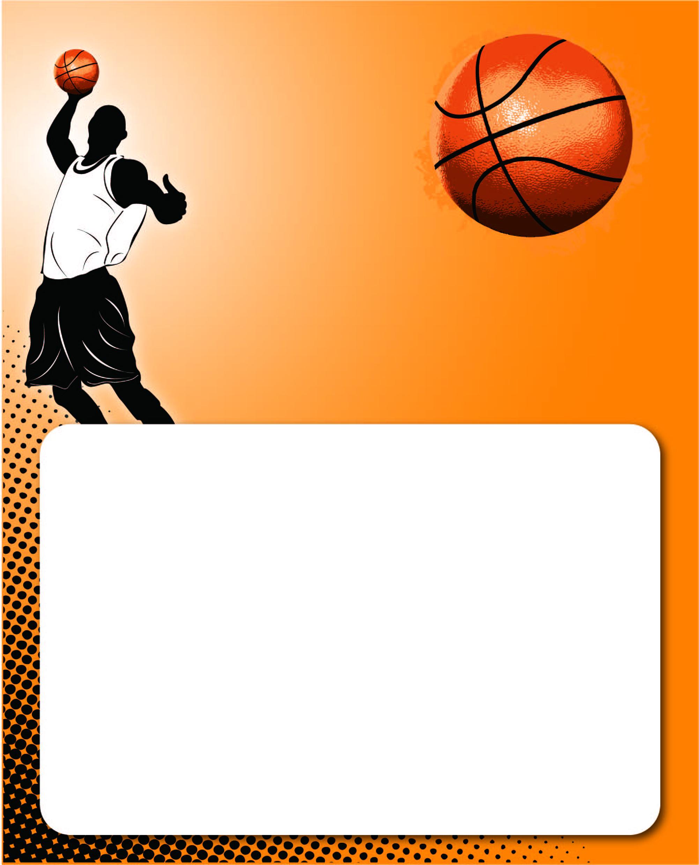 Basketball Halloween Basket