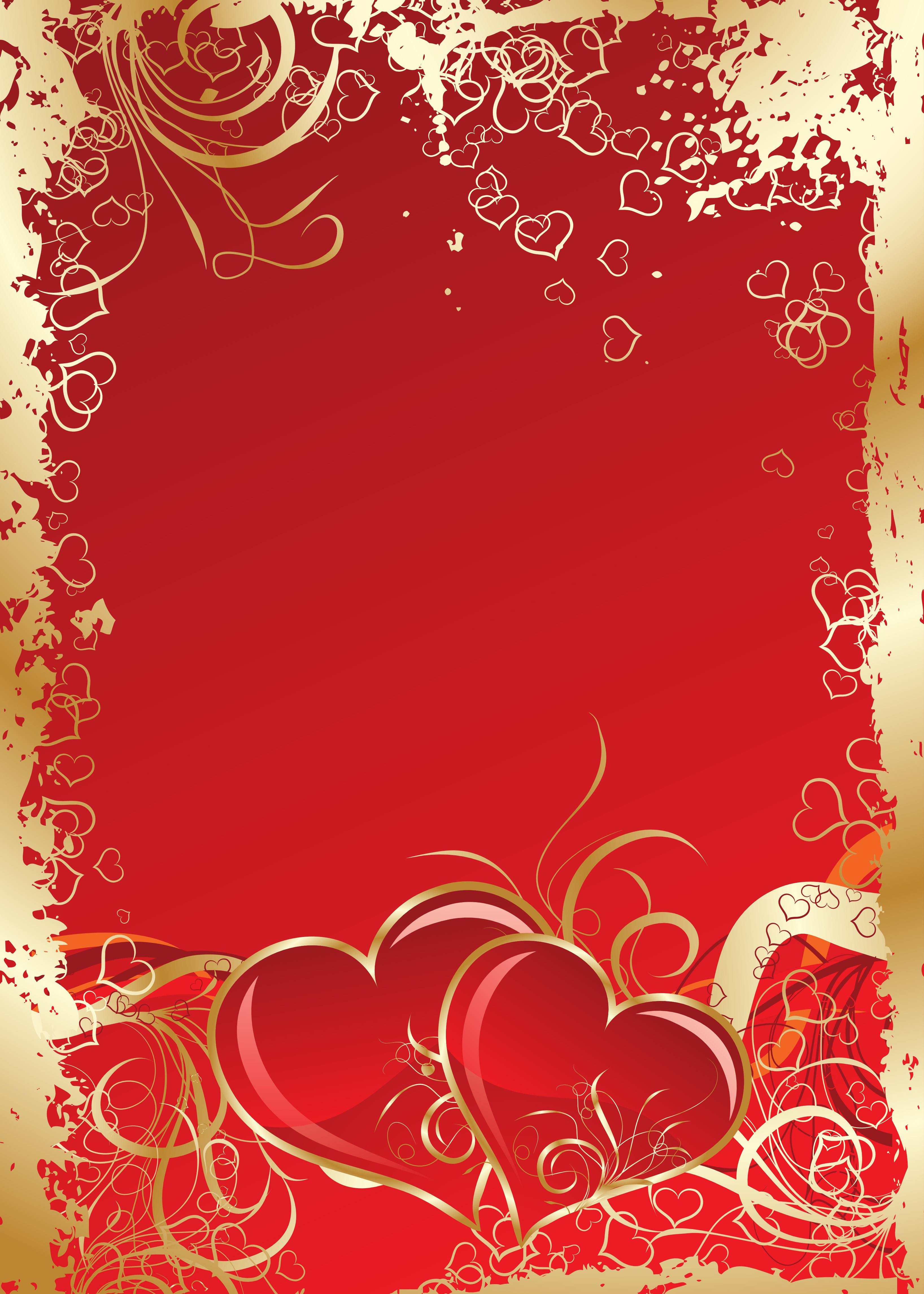 Festive Red Card, Red, Happy, Wedding Background Image for ...