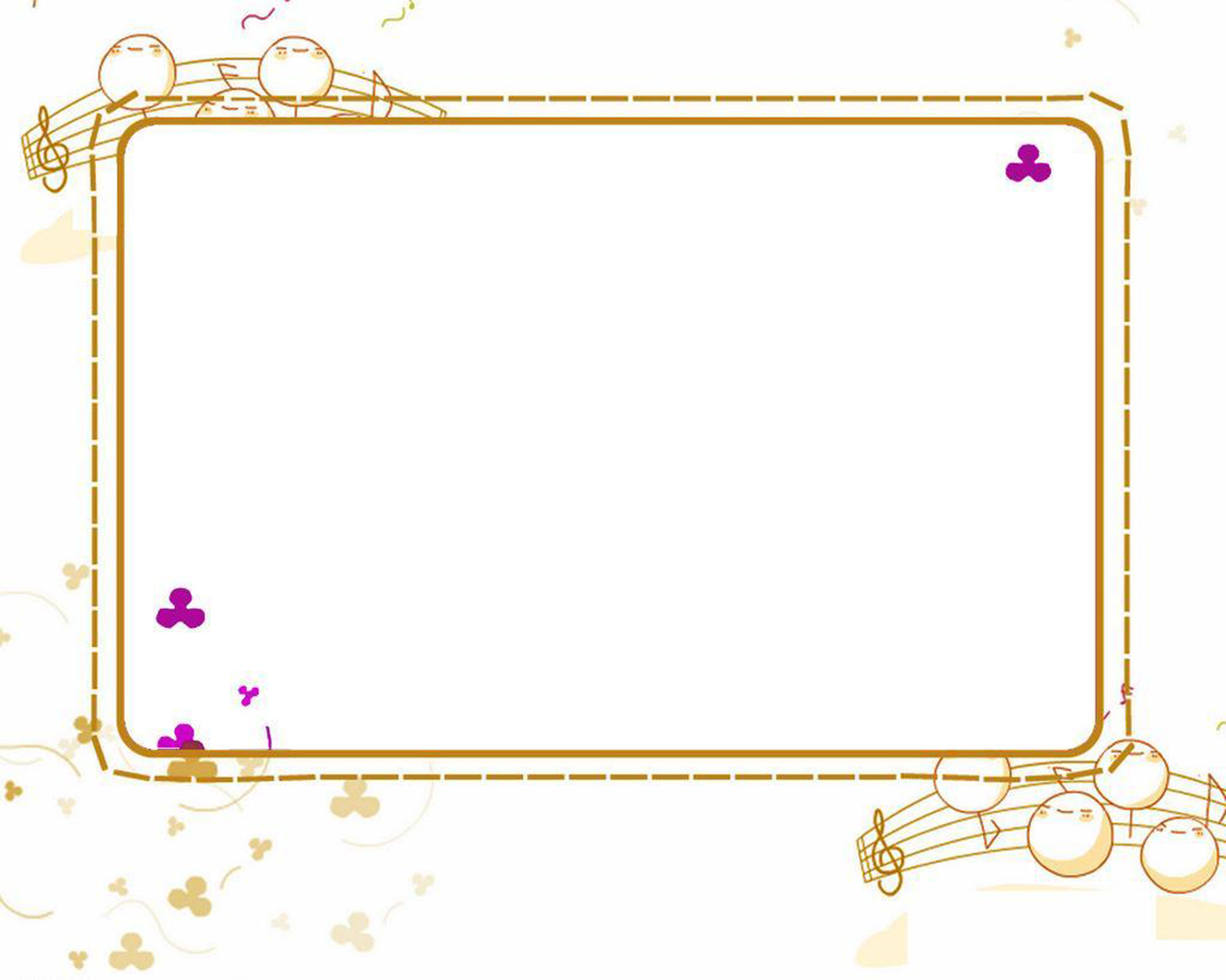 Simple Cute Border Background, Simple, Frame, Lovely ...