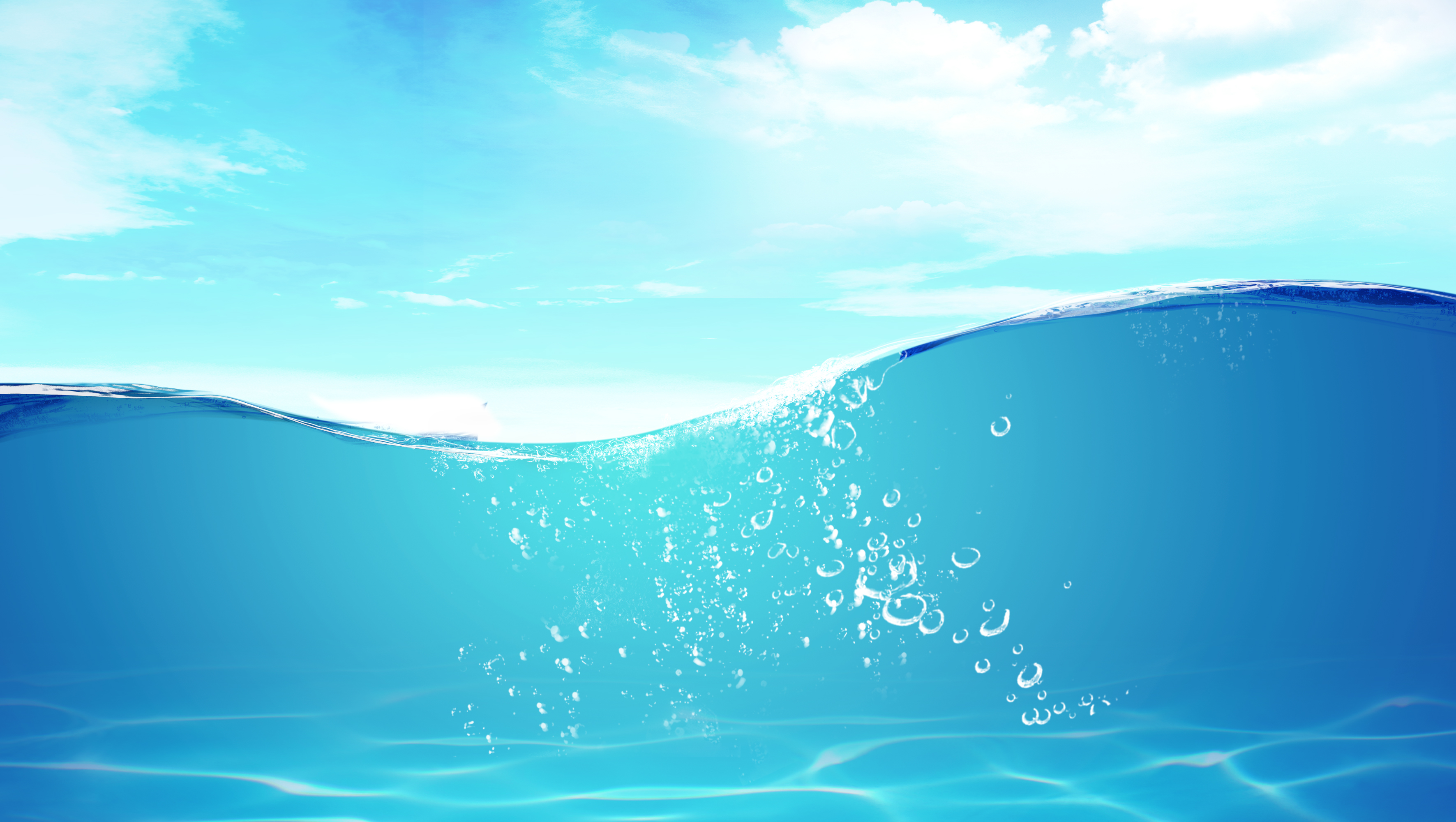 clear blue water waves background material  blue  water