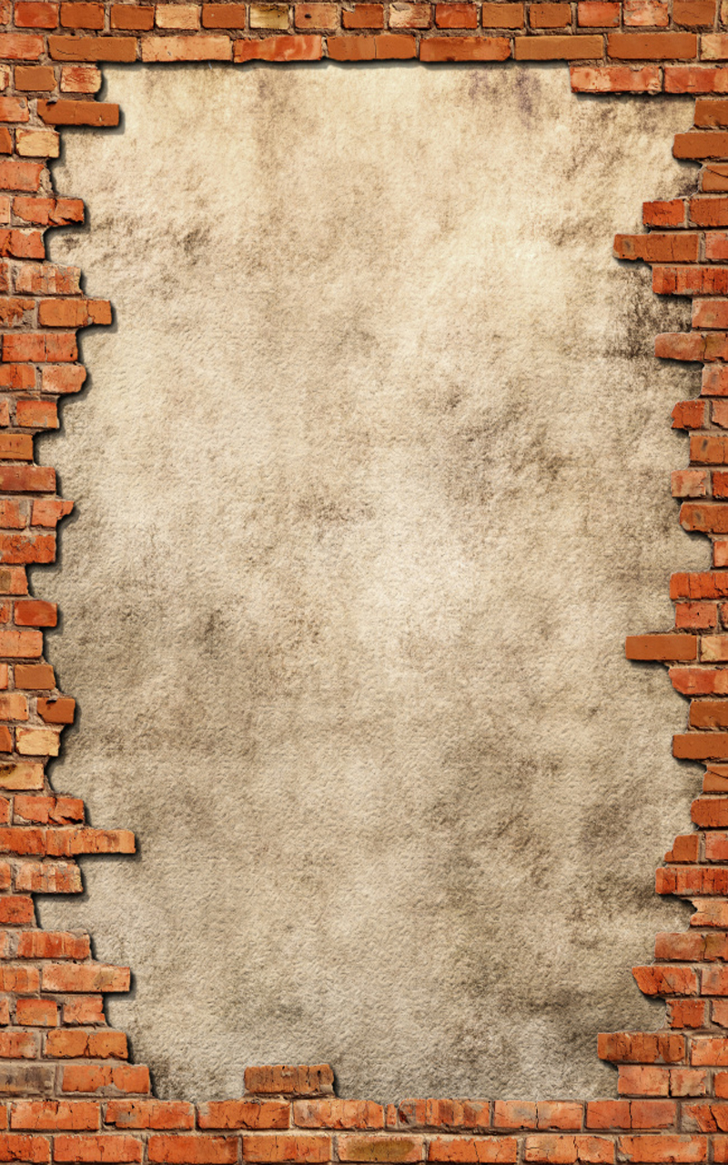 brick frame  brick  frame  broken background image for