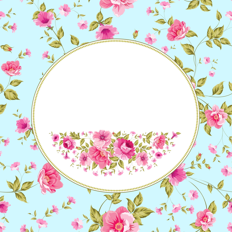 frame design card decorative background  pink  decoration