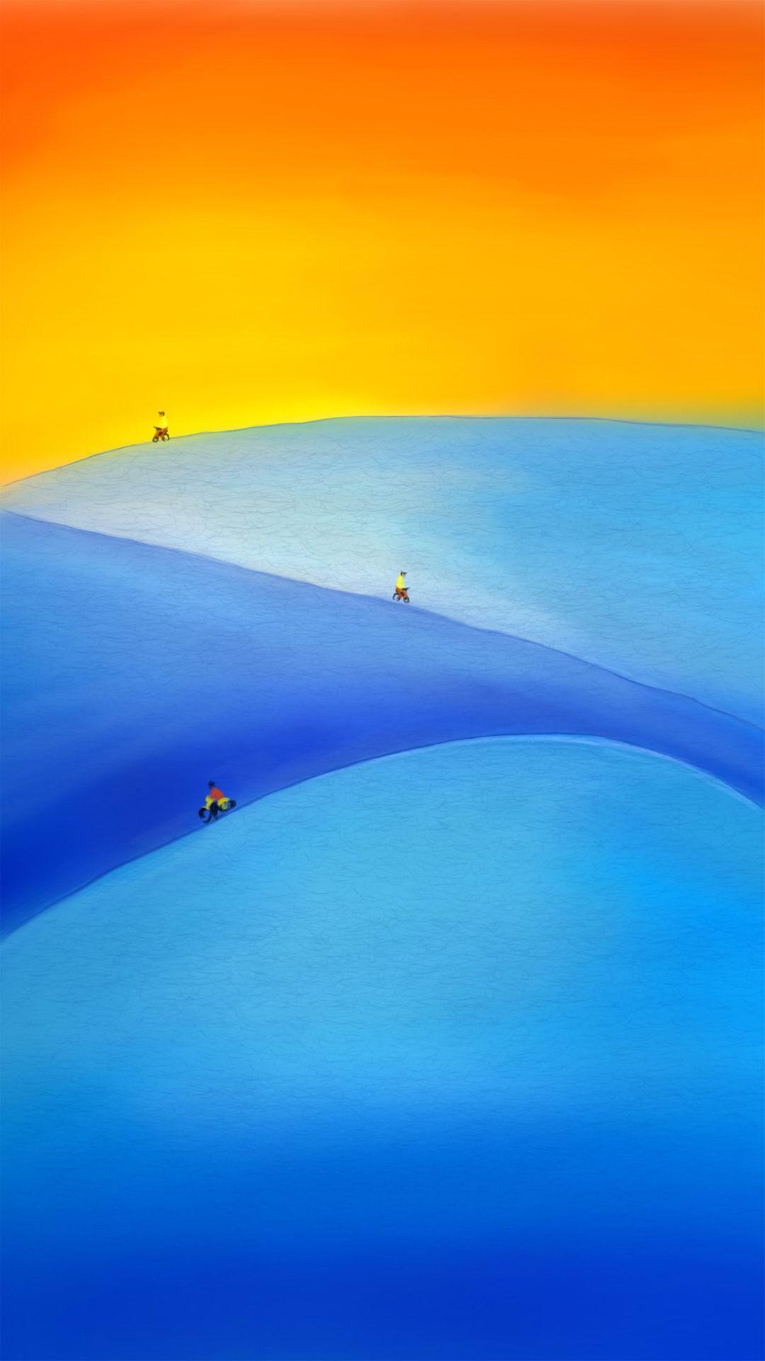 Bay Beach Sand Body Of Water Background Ocean Sky Water