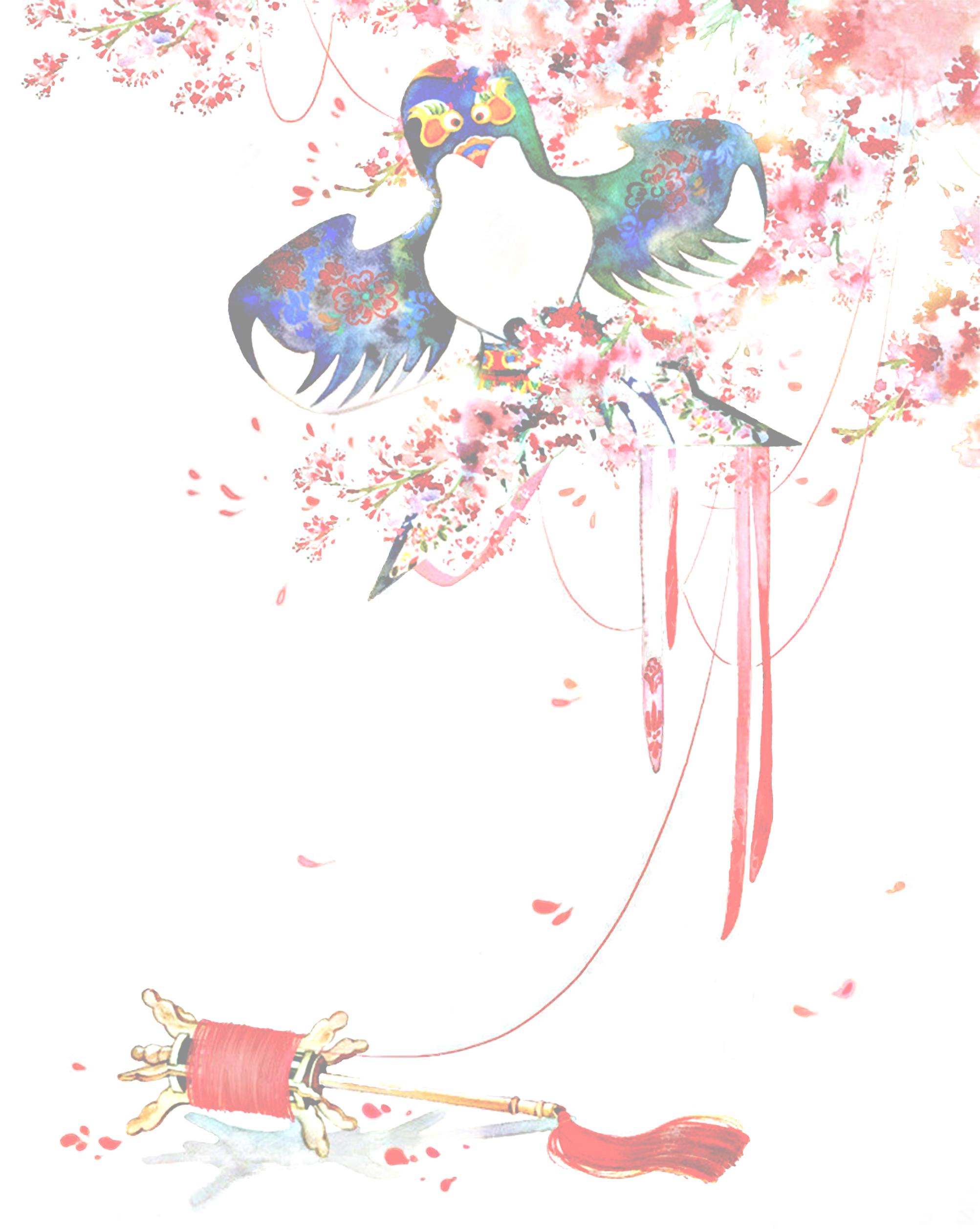Cometa chino viento elegante plantilla de fondo Kite Fondo Elegante ...