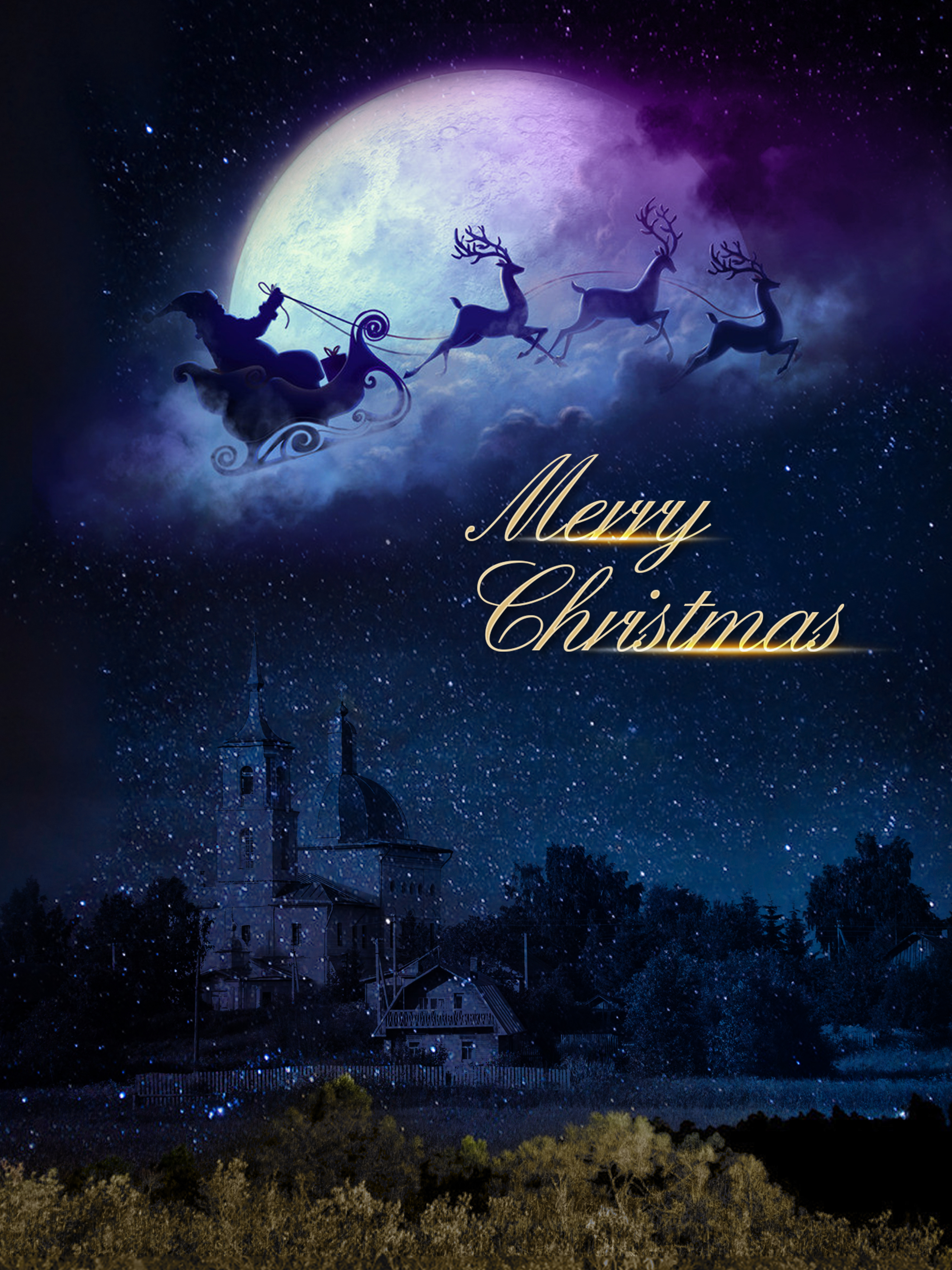 christmas fantasy poster background template  christmas  dream  poster background image for free