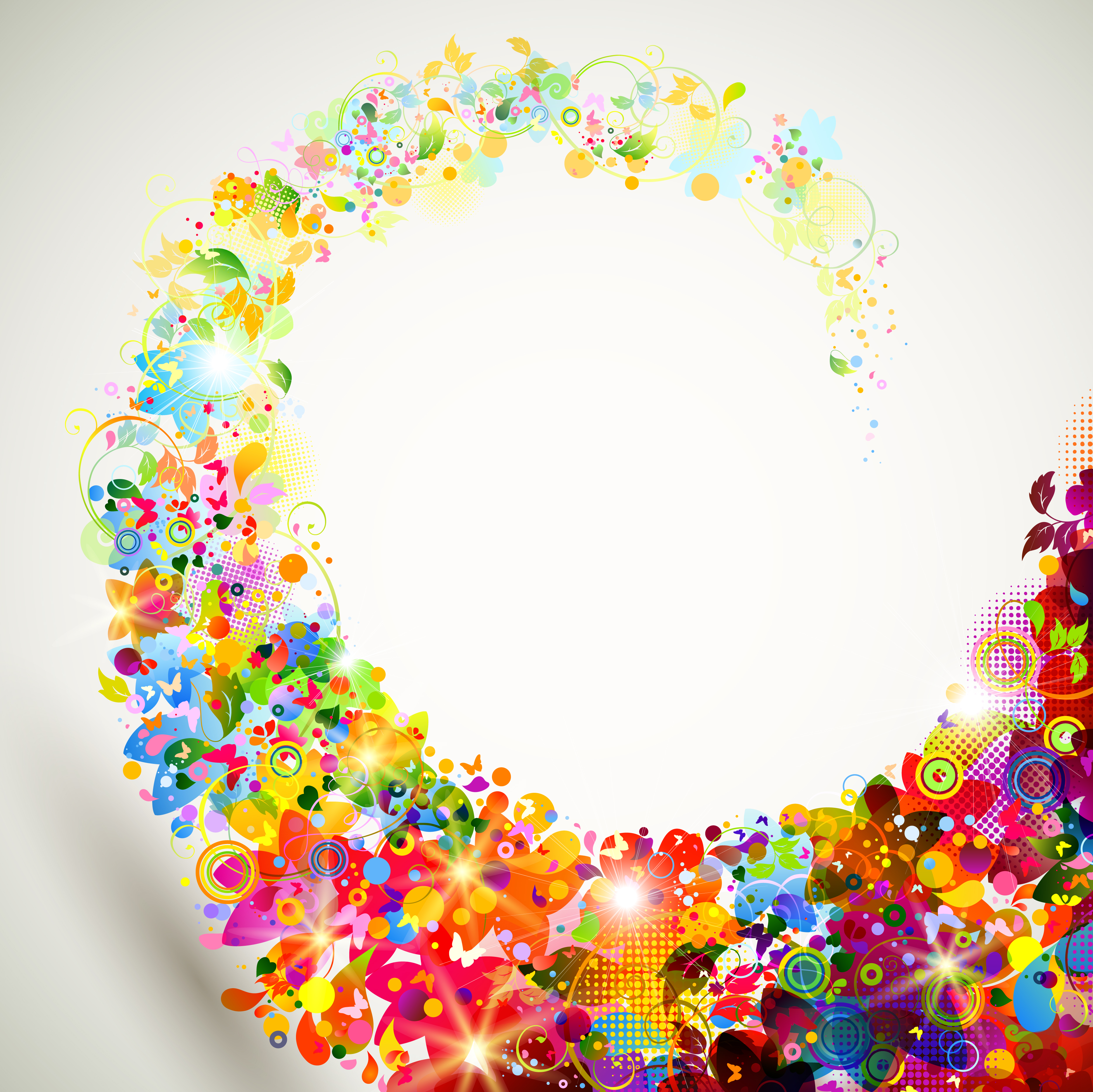 Vibrant color background in riotous profusion beautiful - Vibrant background ...