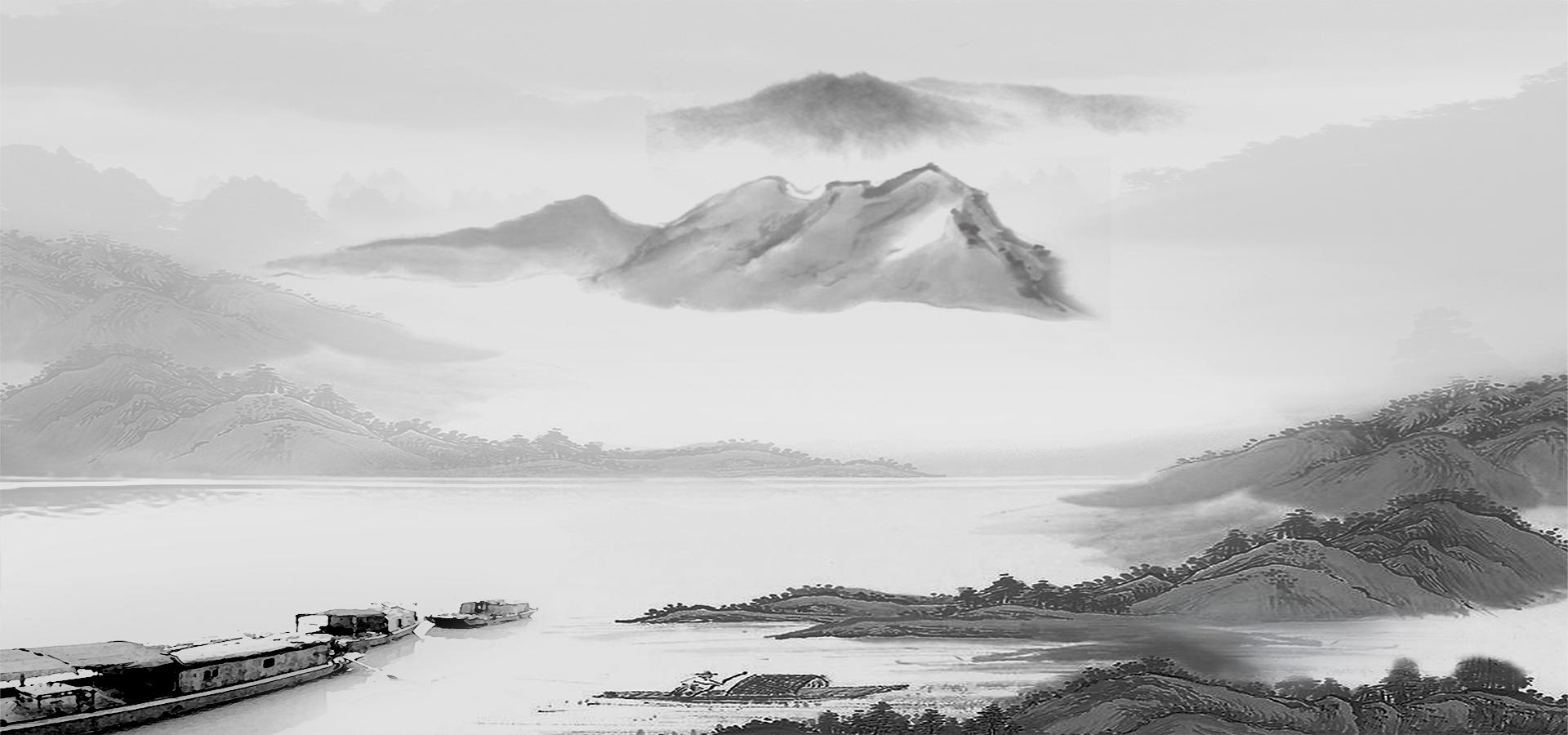 les montagnes de l encre de la banni u00e8re d affiches