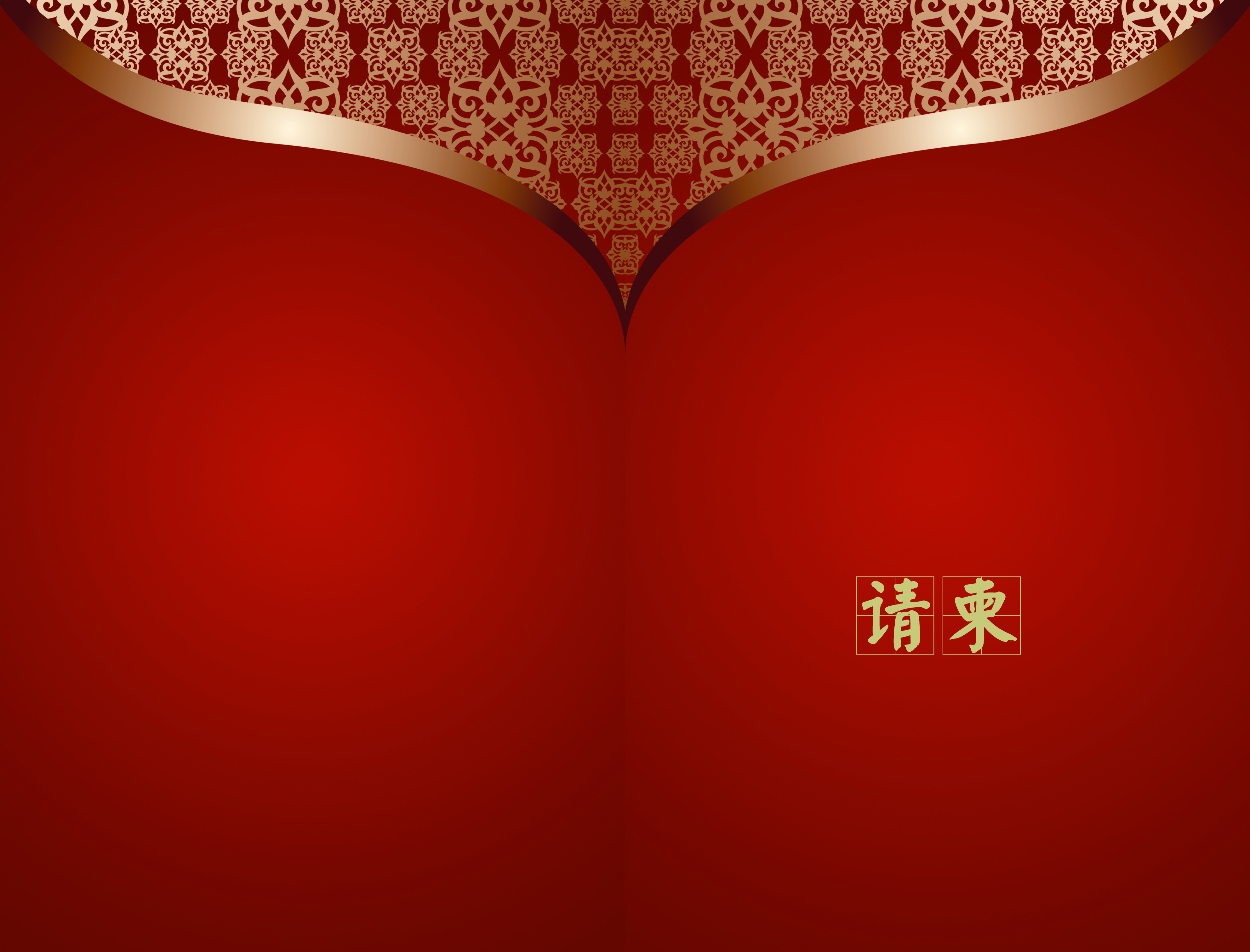 red chinese style elements background invitation  red  invitation  card background image for