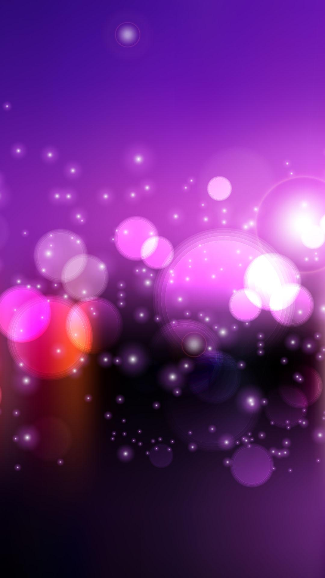 Le stelle luminose viola h materiale di riferimento
