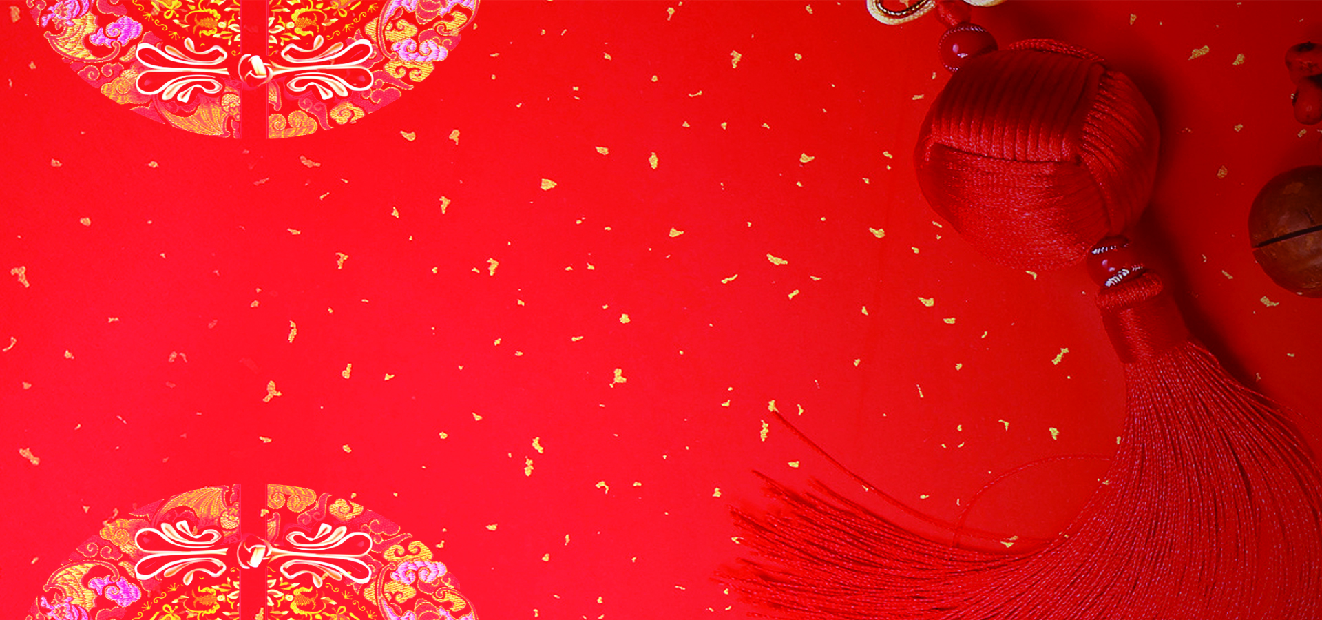 chinese new year countdown wind festive red poster banner