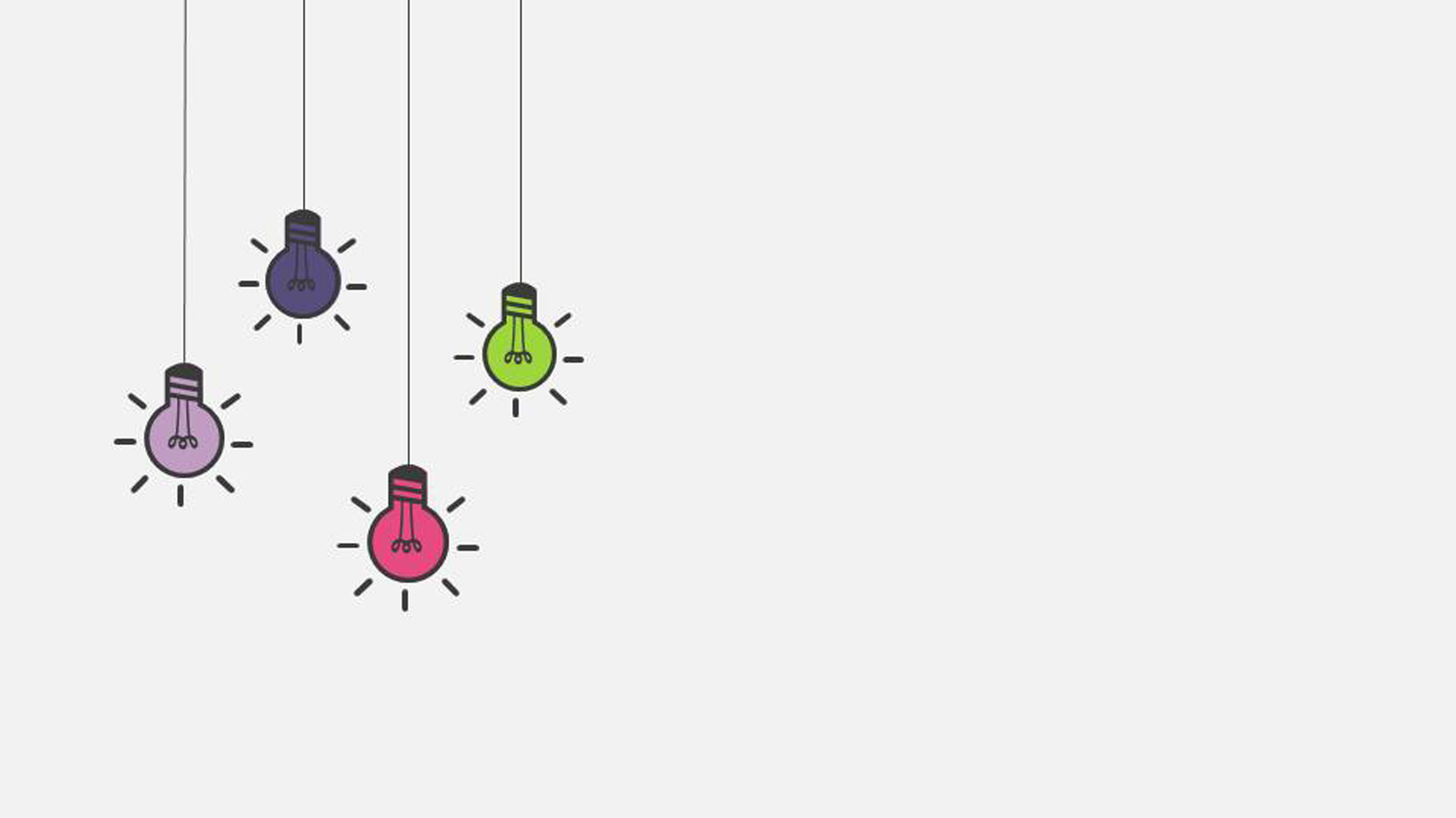 creative bulb graduation reply ppt background material