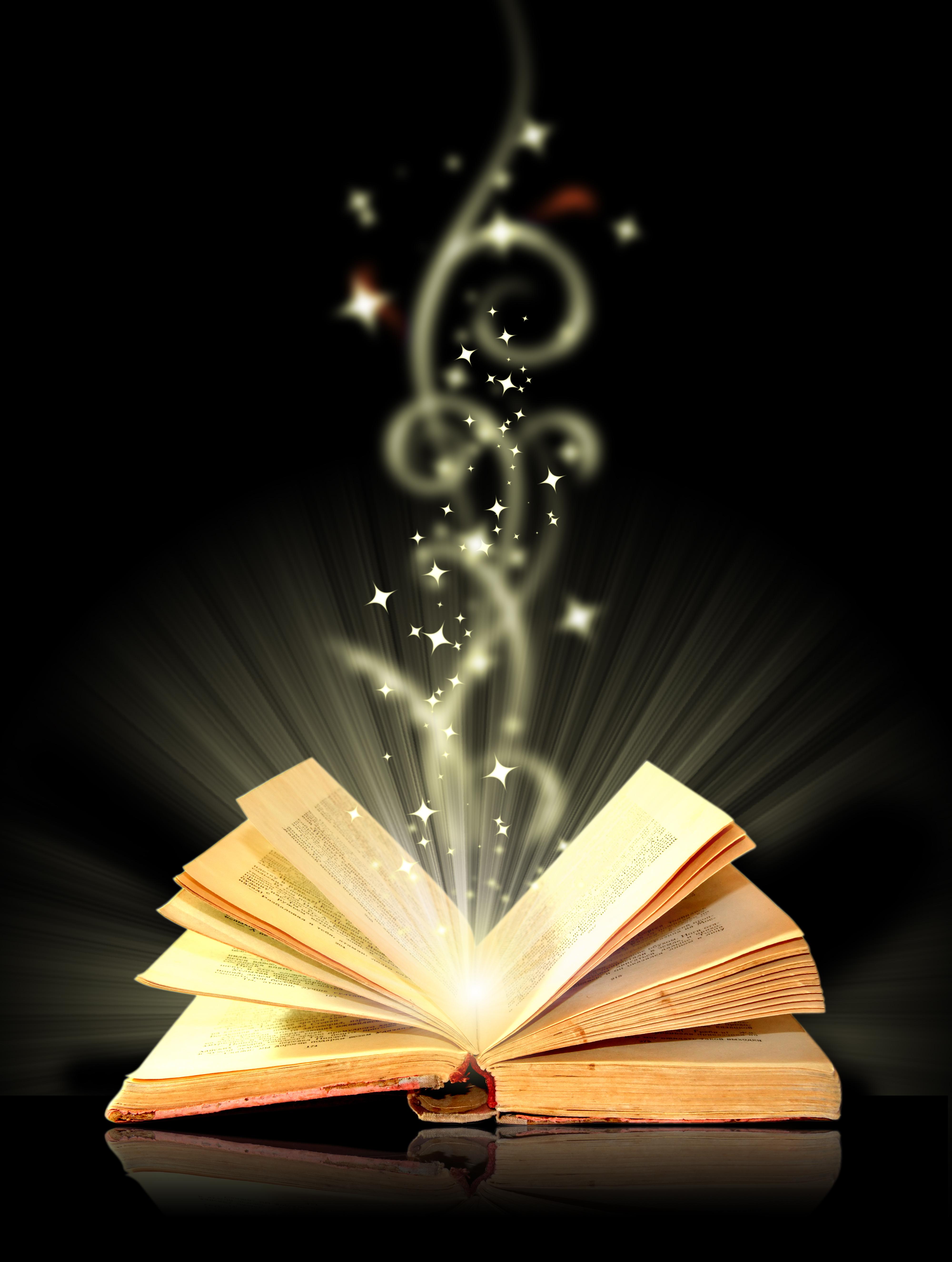 le livre de magie de mat u00e9riau de fond le livre magique de la lumi u00e8re livres image de fond pour