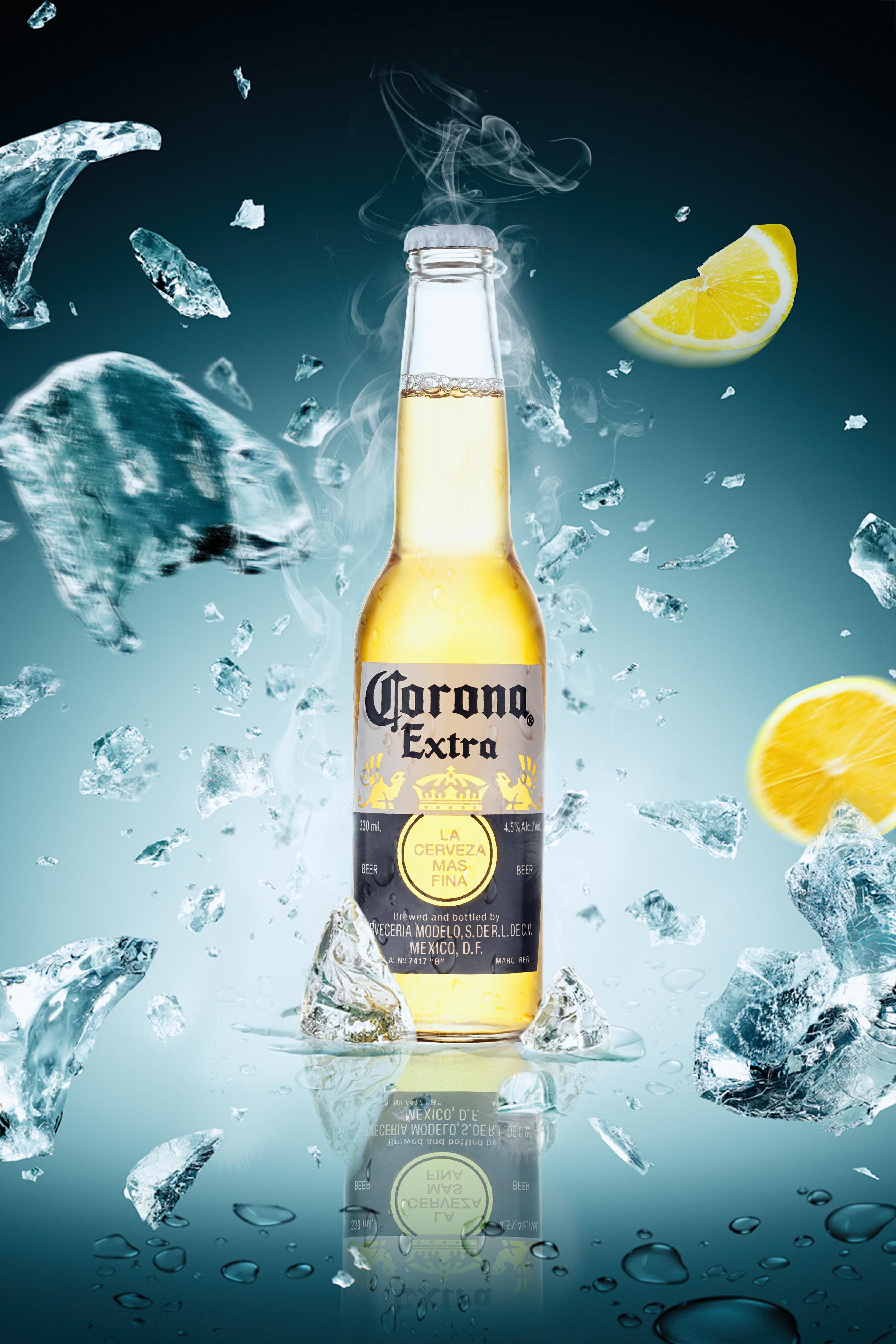 el verano de hielo cerveza la impresi u00f3n de fondo verano