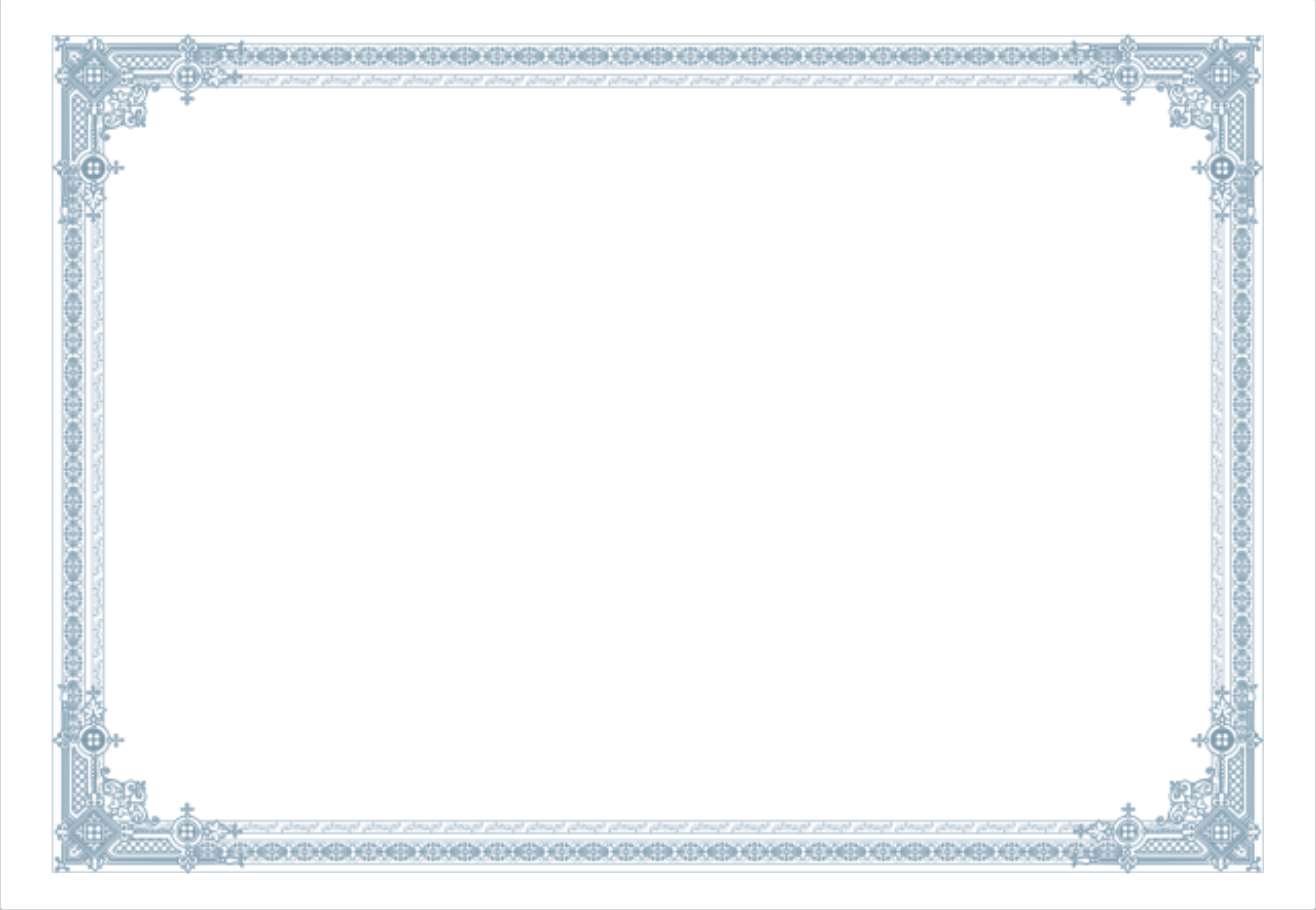 simple lines certificate border poster background