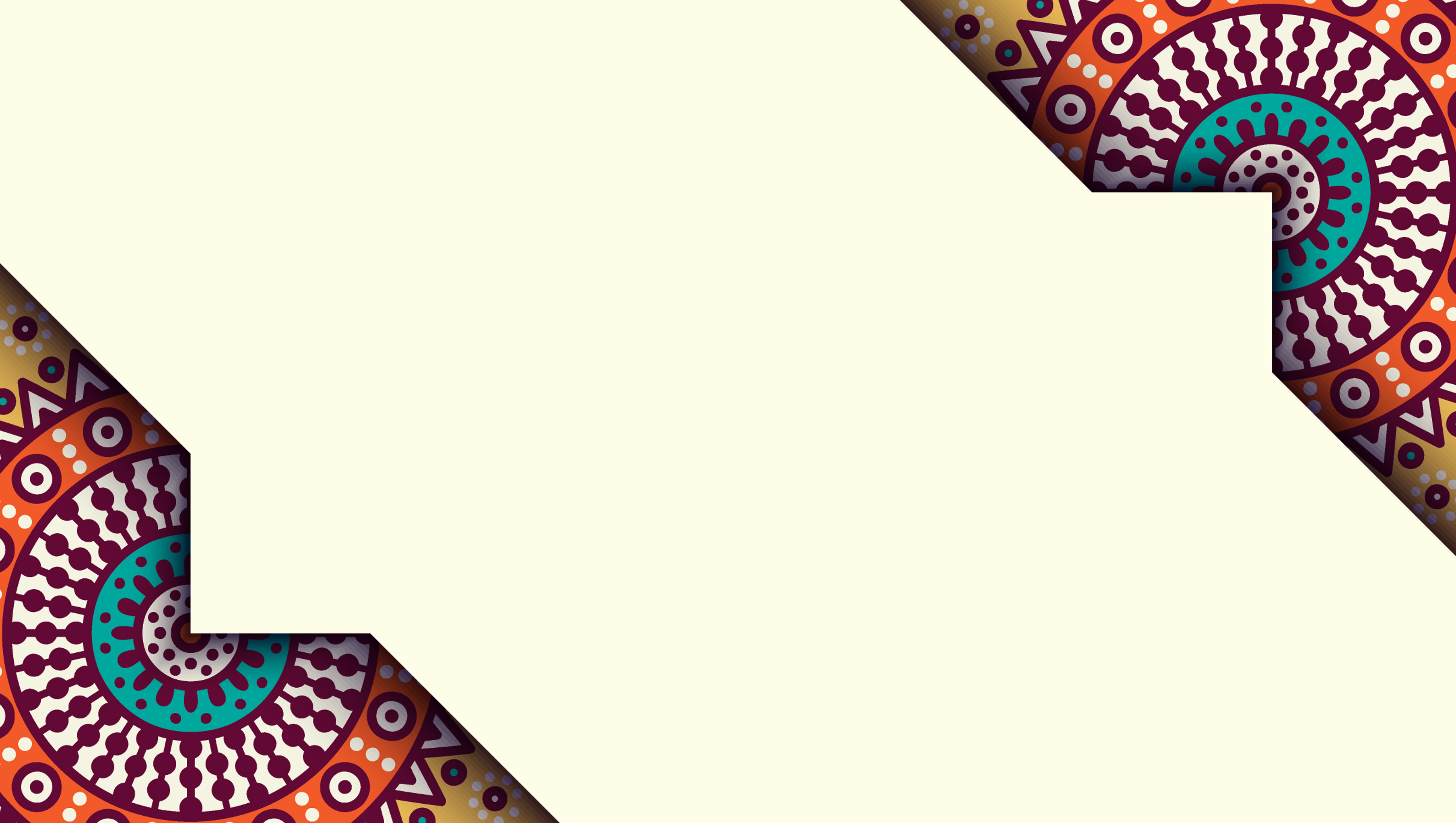 personalized cards ethnic pattern background material