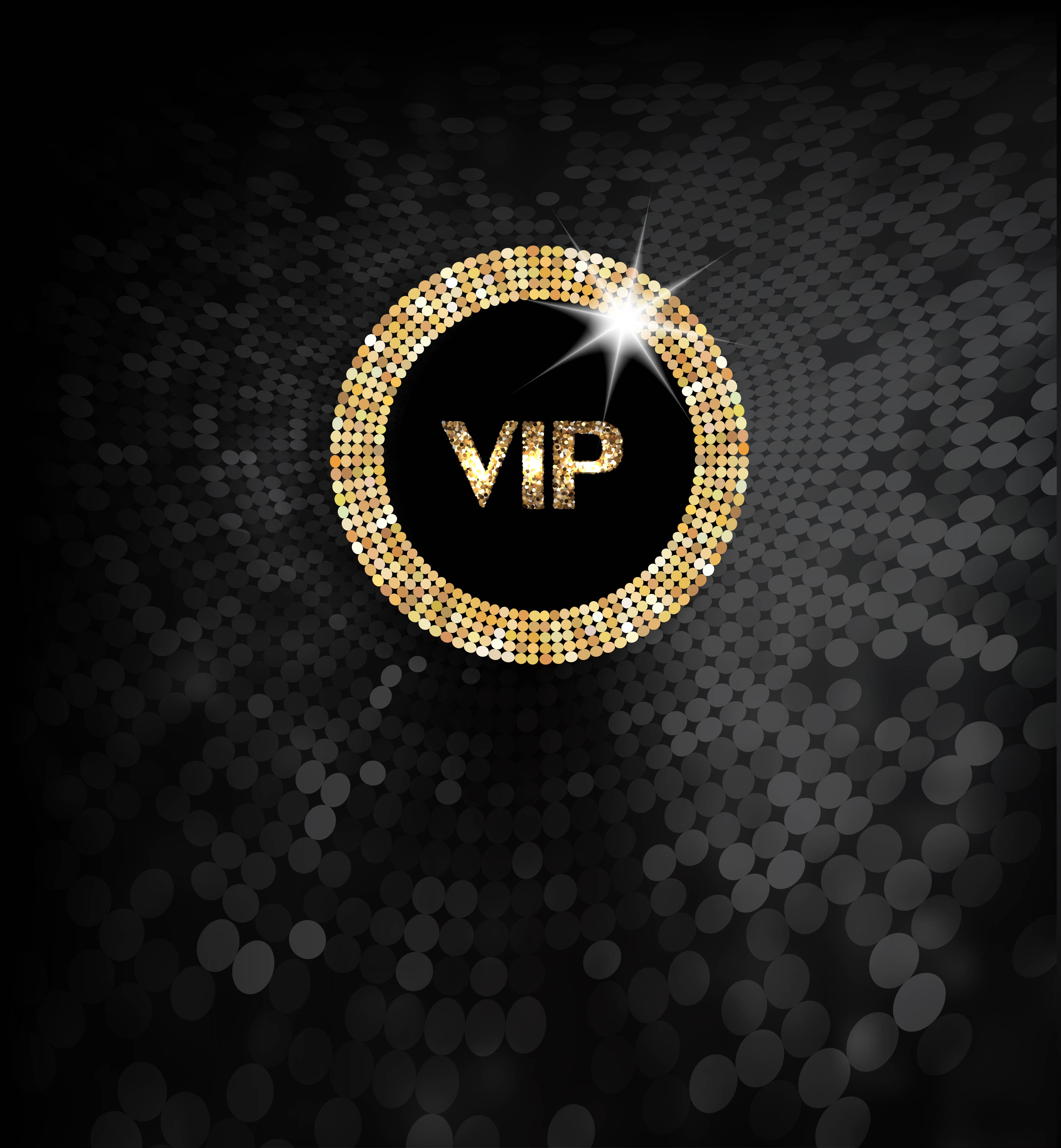 Vector Background Material Textured Black Vip Promotions
