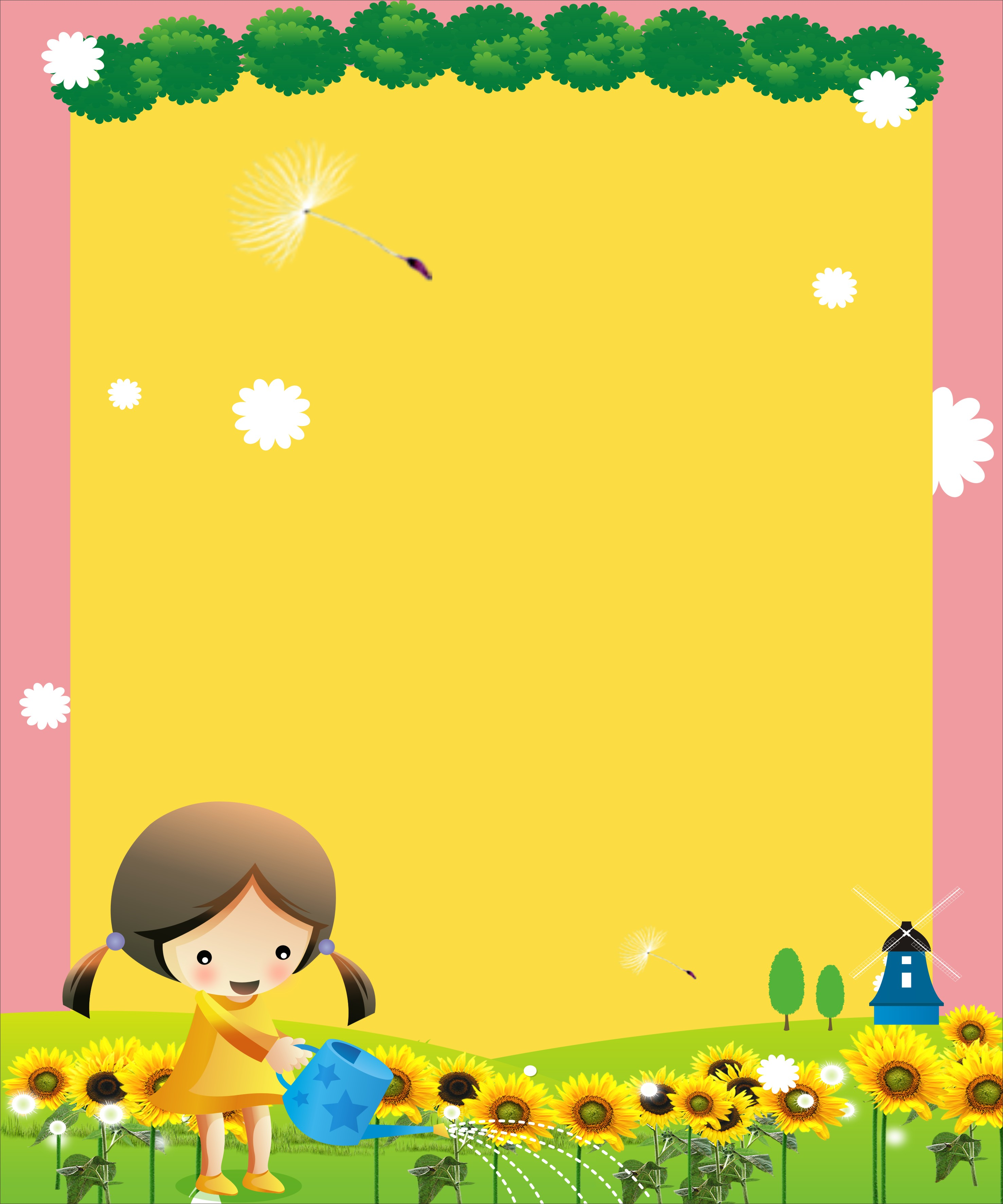 maternelle affiche des mod u00e8les d arri u00e8re plan les enfants