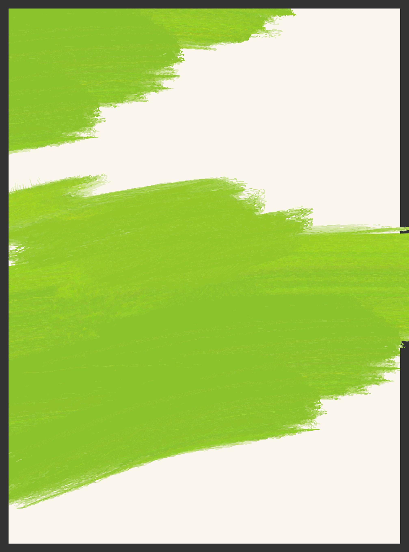 creative business flyers verde acuarela de fondo verde