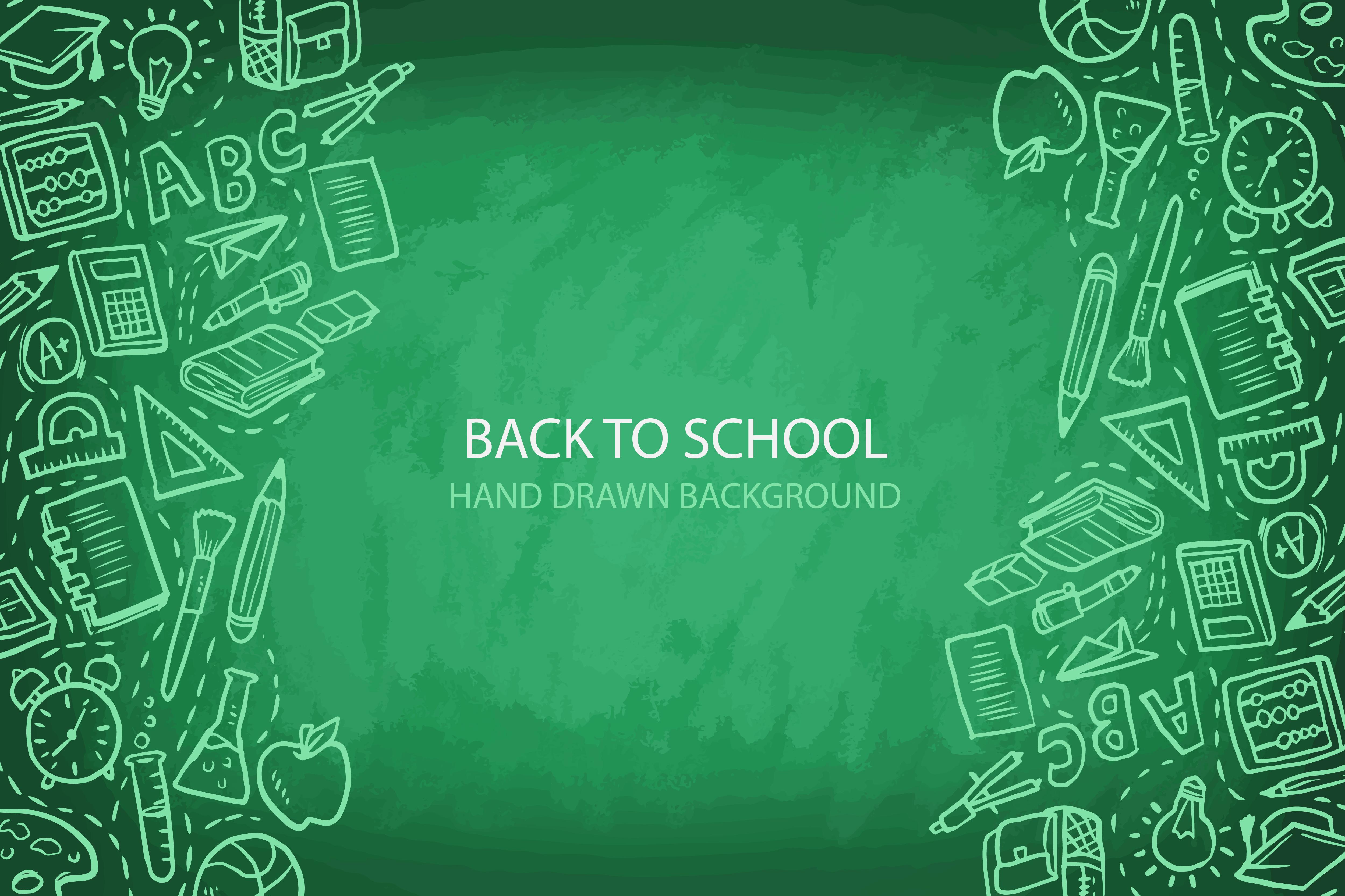 green chalkboard classroom background material  blackboard