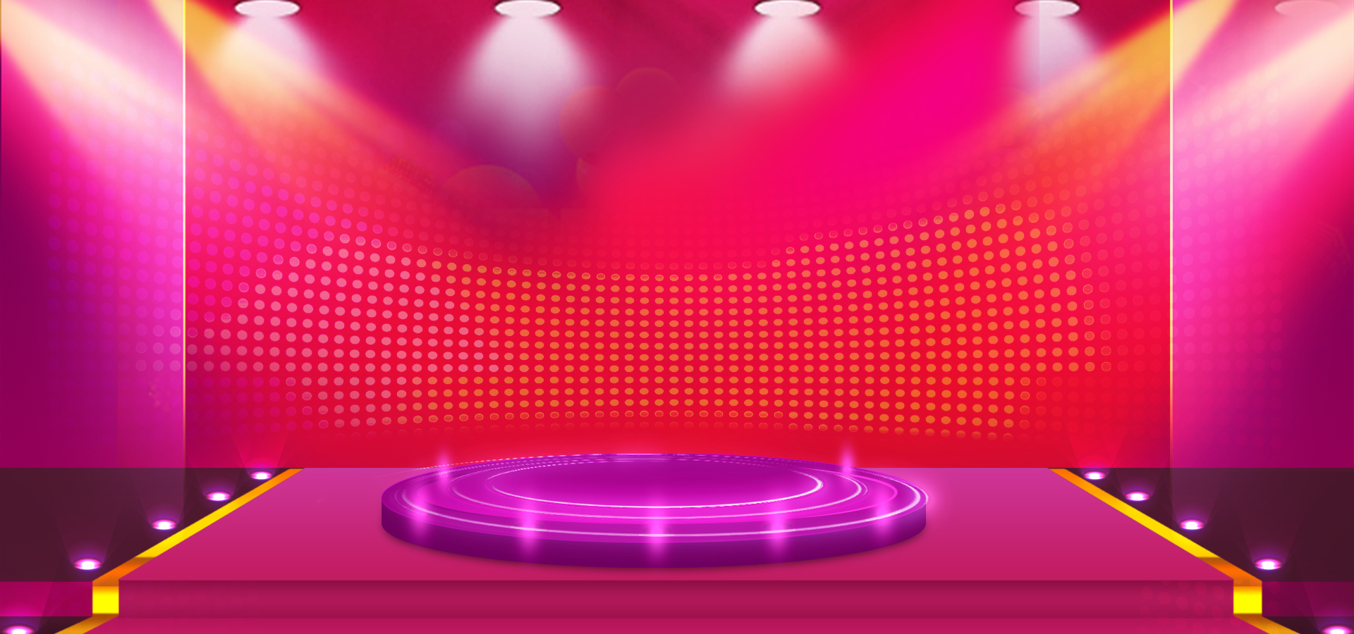 Romantic Fantasy Gradient Background Stage Lighting Taobao Shop Show Effects Image For Free Download