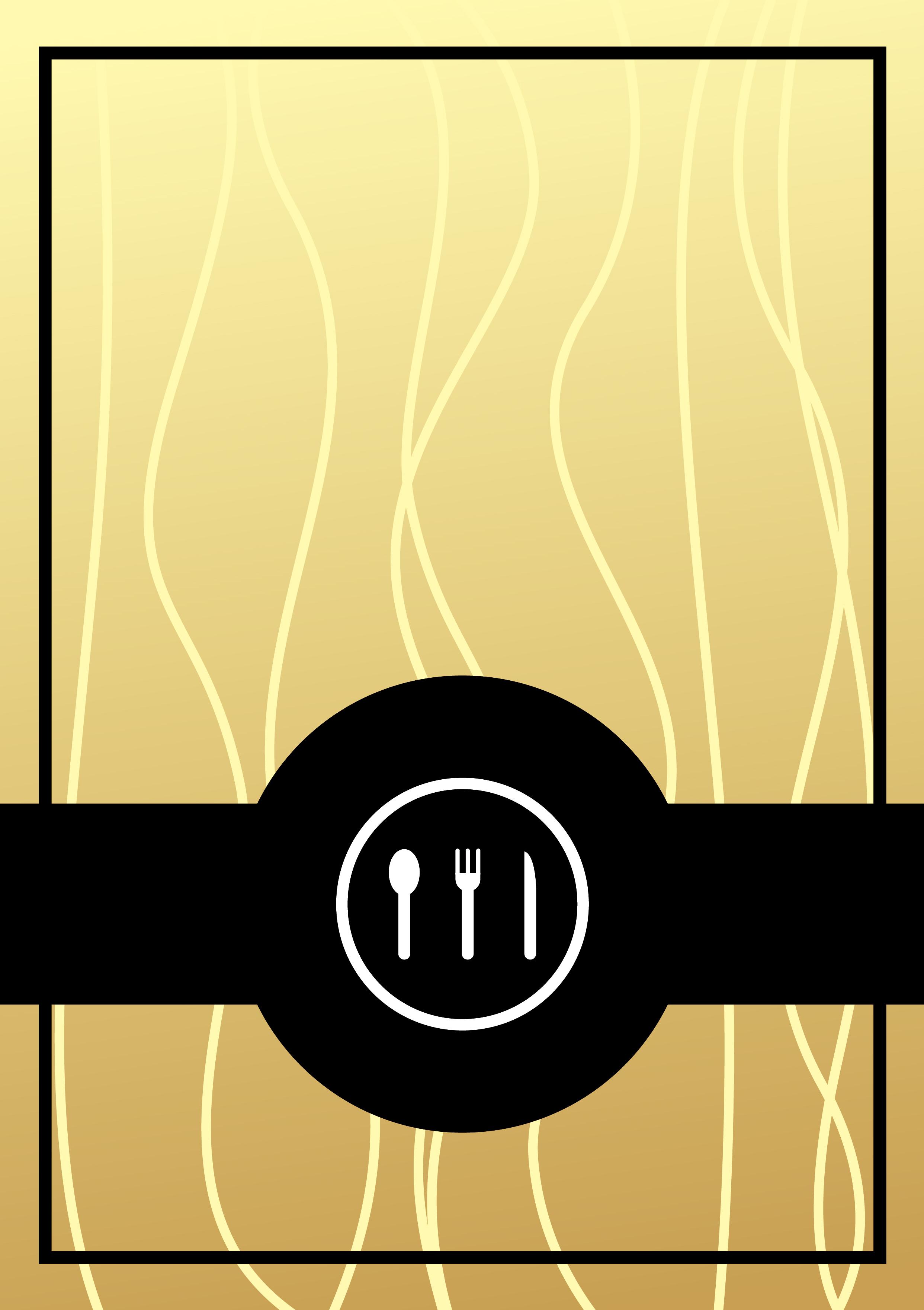 elegante restaurante de estilo occidental oro material de