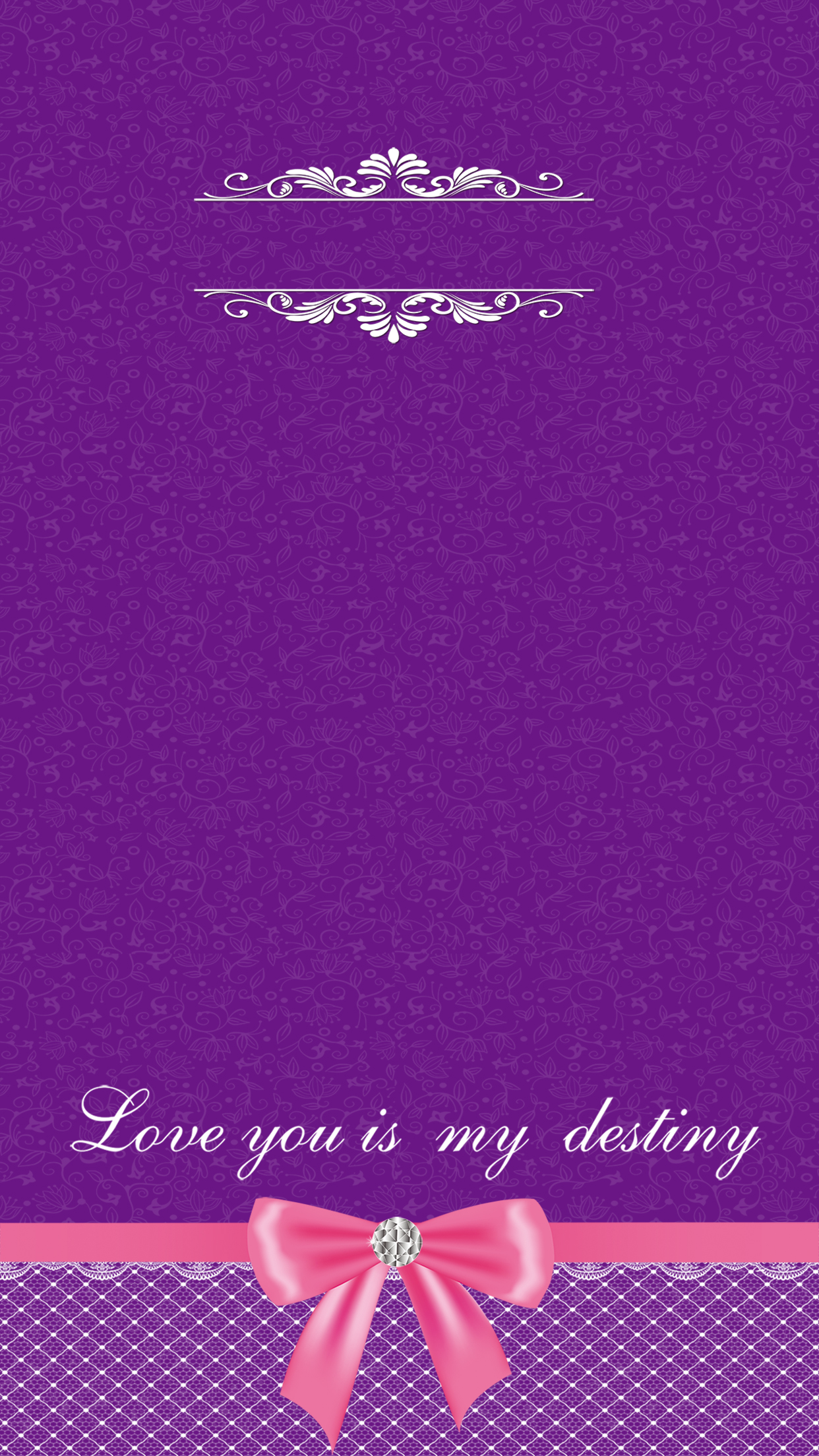 purple wedding lace pattern h5 background material