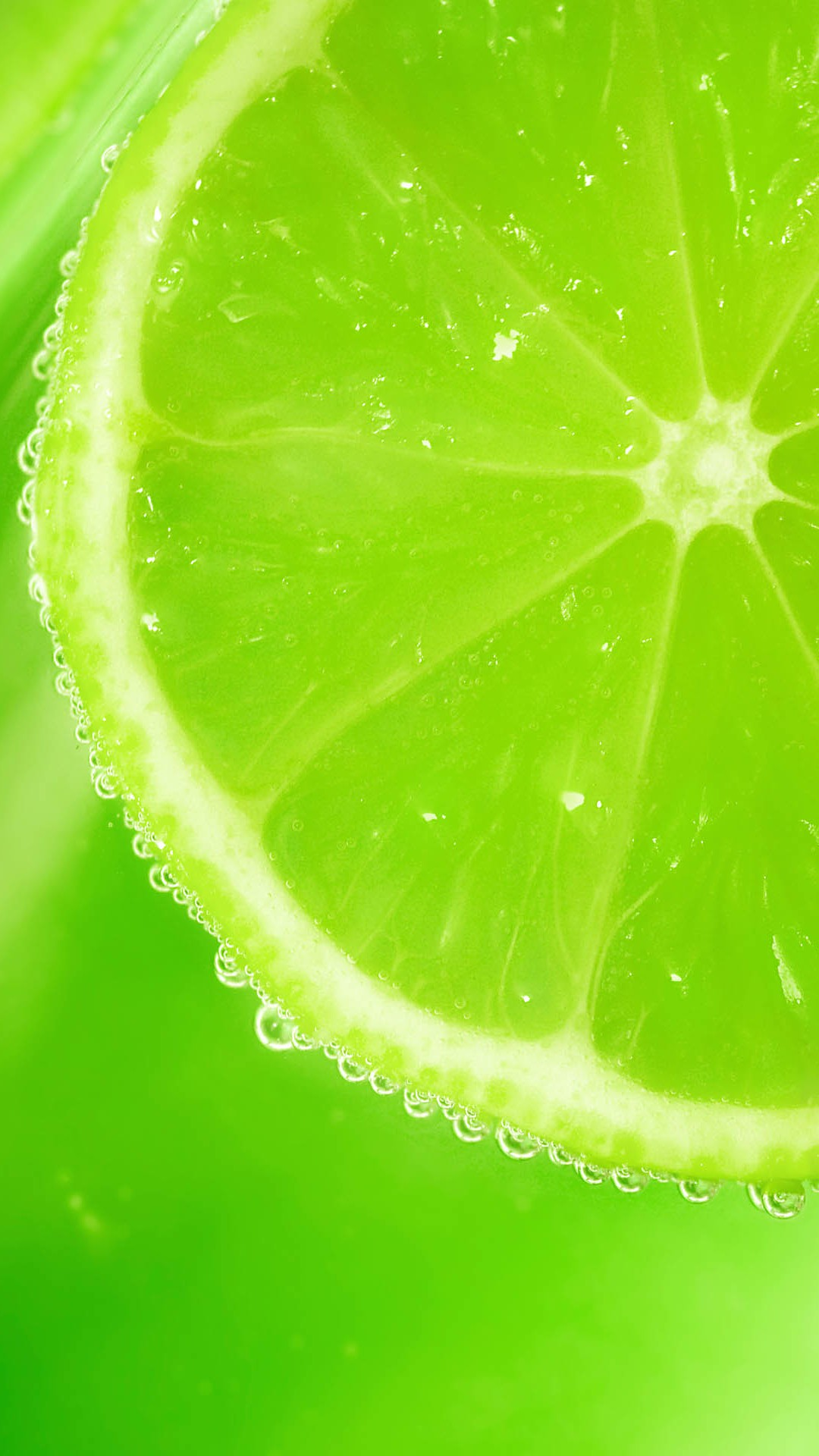 Lemon H5 Green Background Small Fresh Image For Free Download