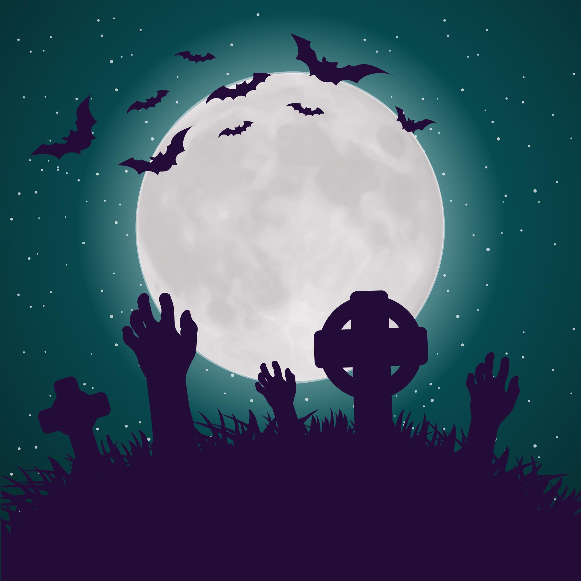 Horror Halloween Poster Background I, Halloween, Poster ...