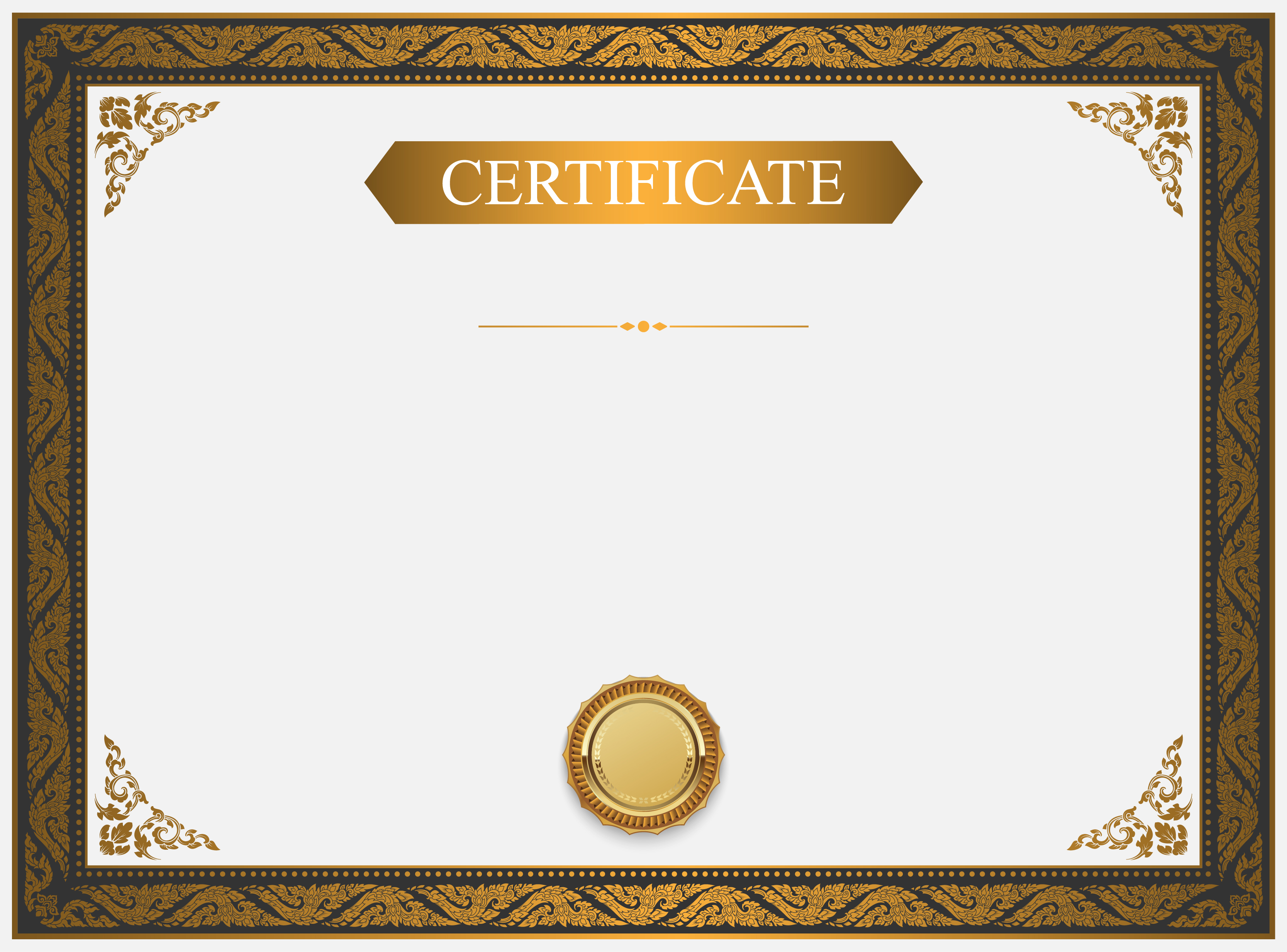 certificate background design  certificate  templates