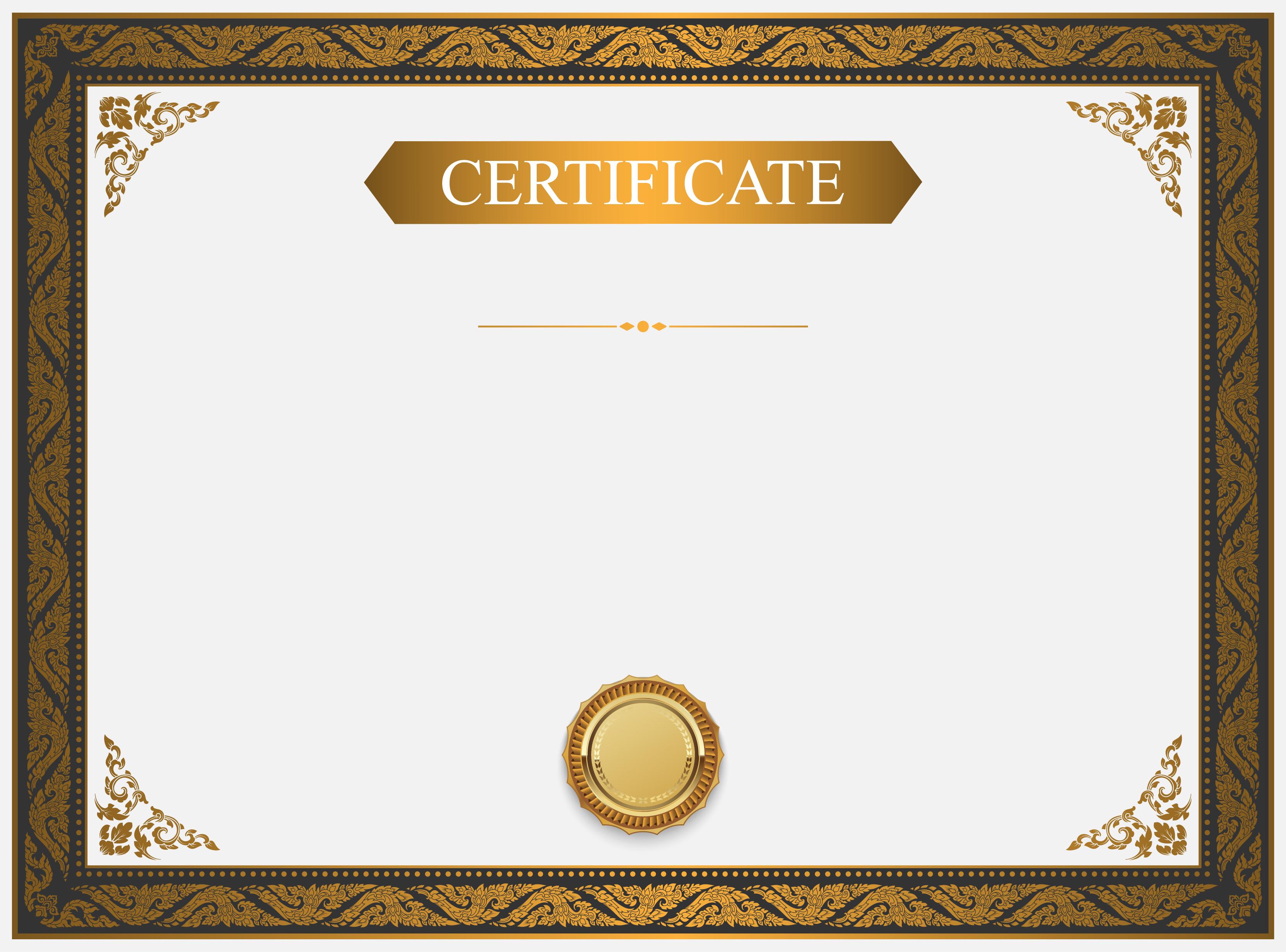 Certificate Background Design, Certificate, Templates ...
