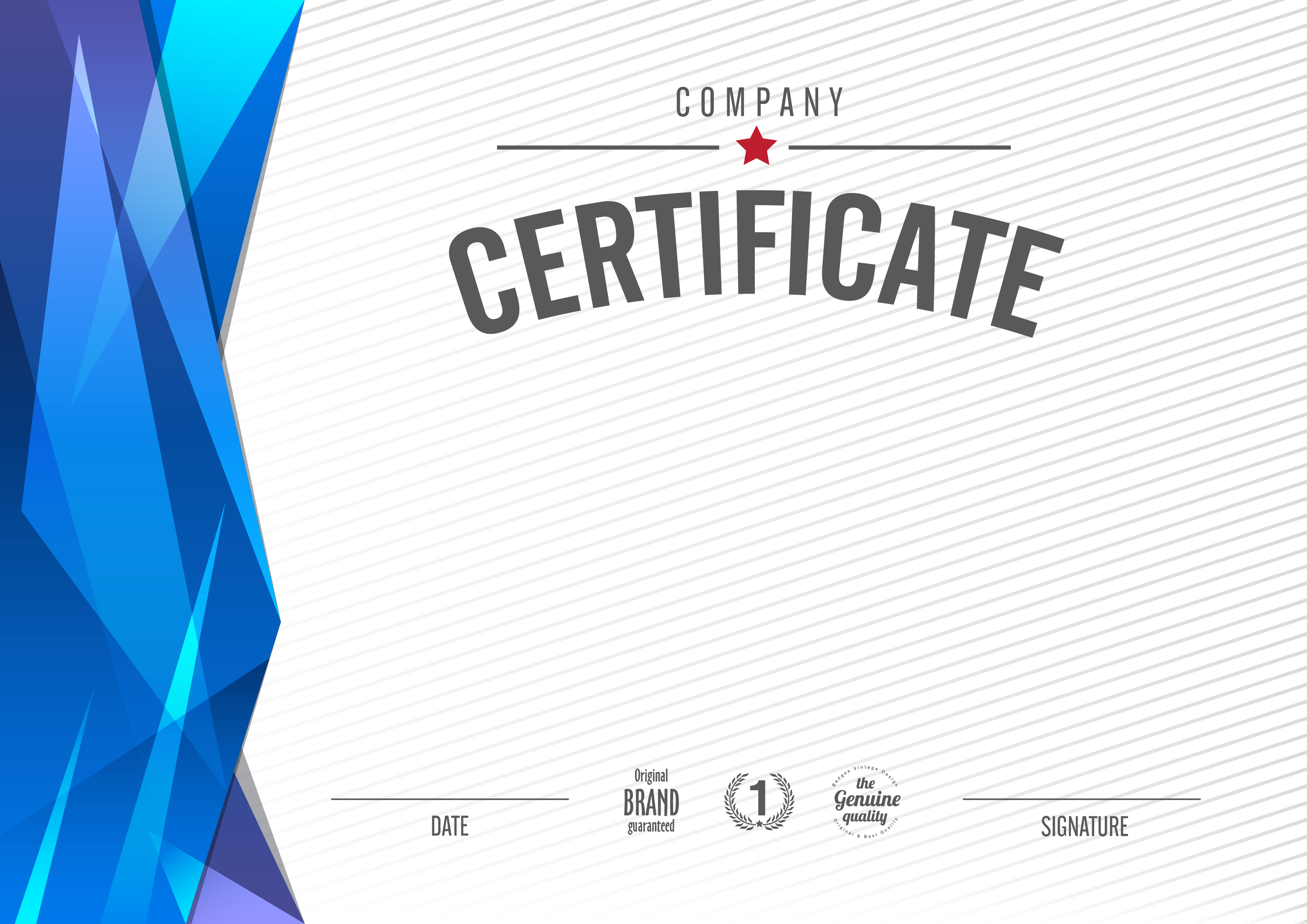 continental certificate background material  certificate