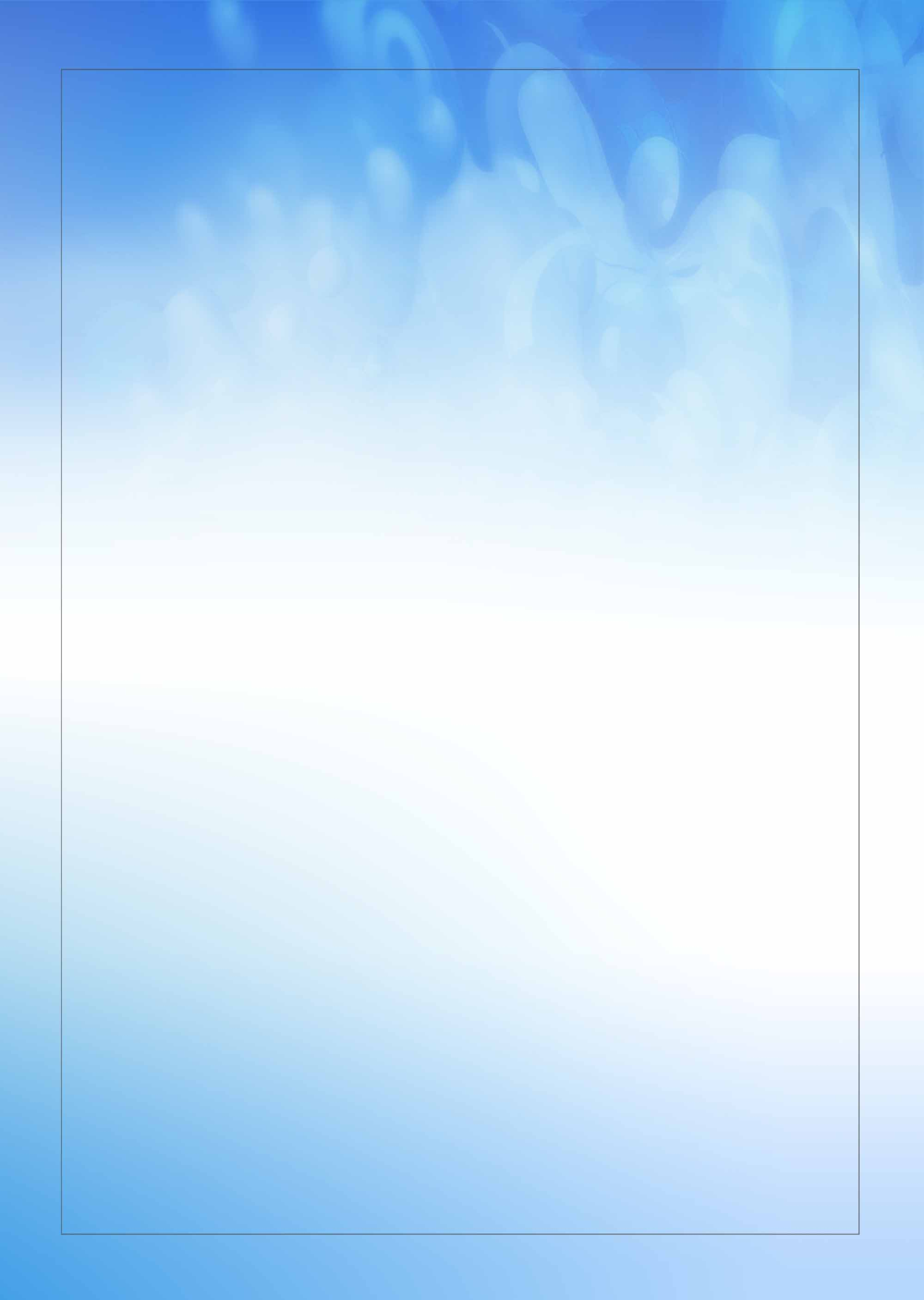 fresh blue ink watercolor poster background template  blue