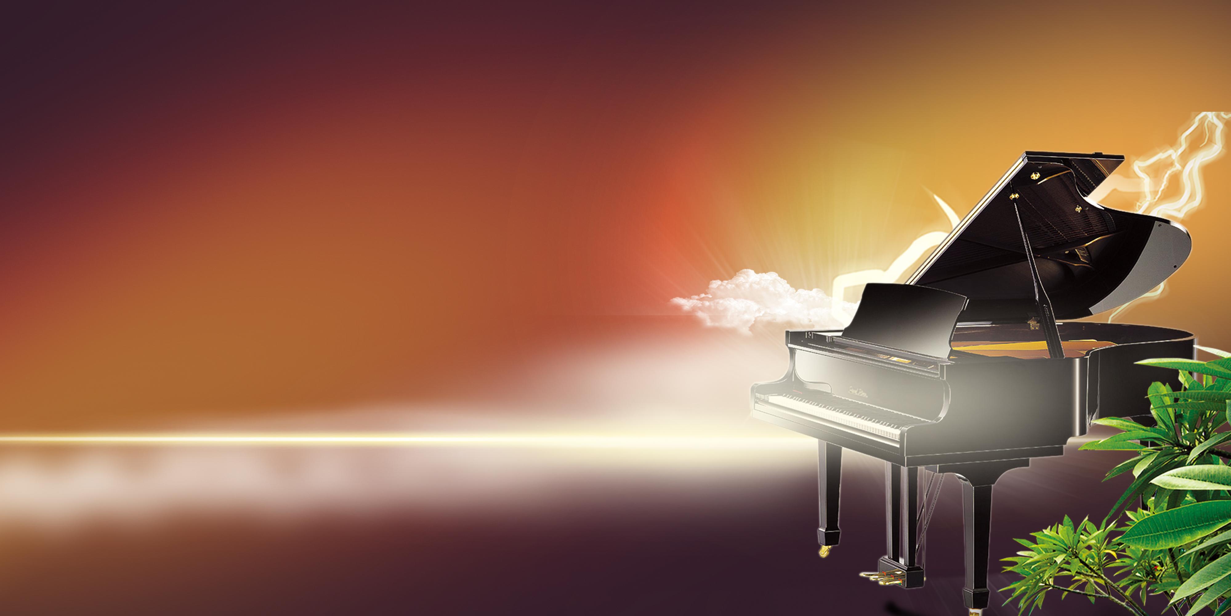 le mod u00e8le de la lumi u00e8re de fond de ciel esth u00e9tique piano