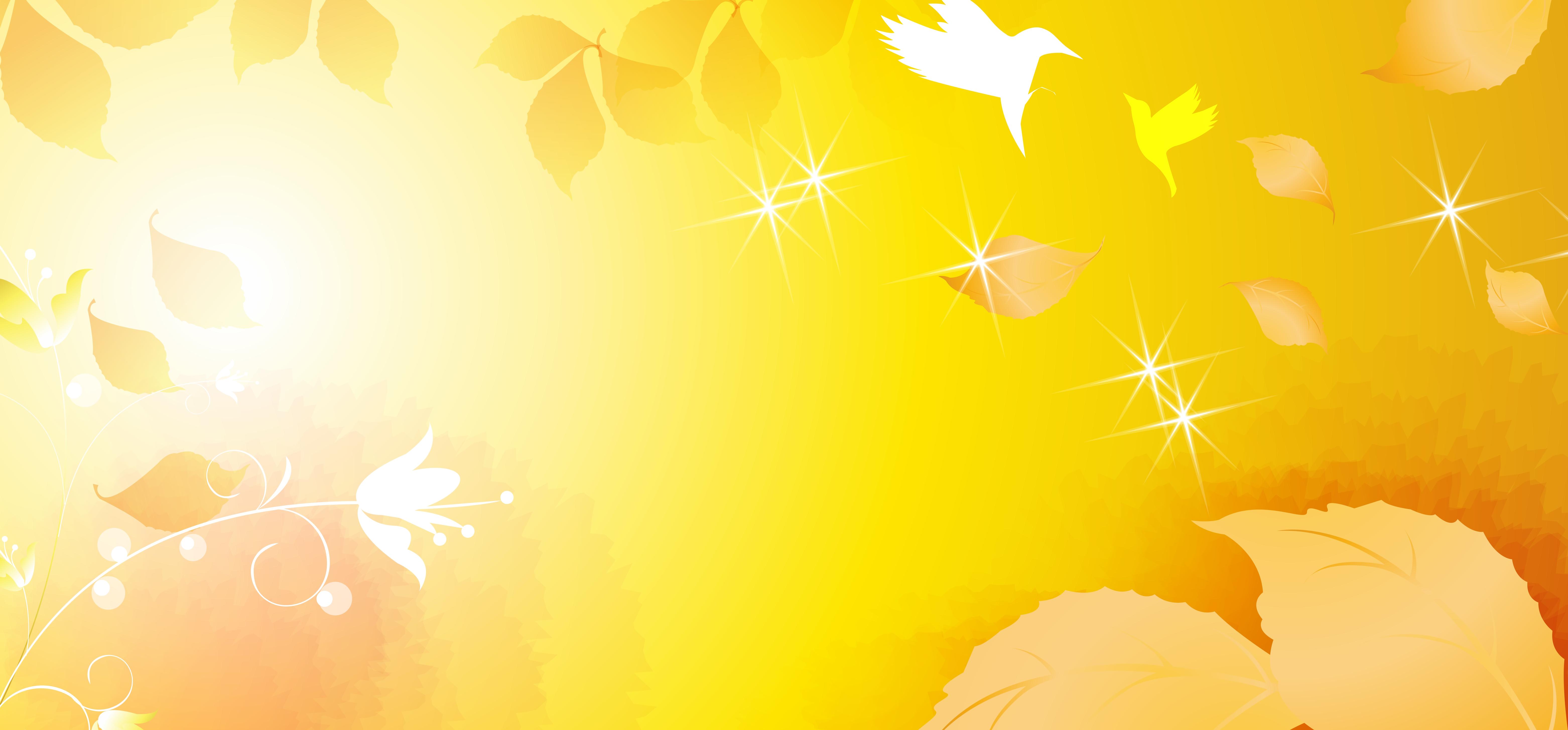 material de fundo amarelo doce flor amarelo quente vector
