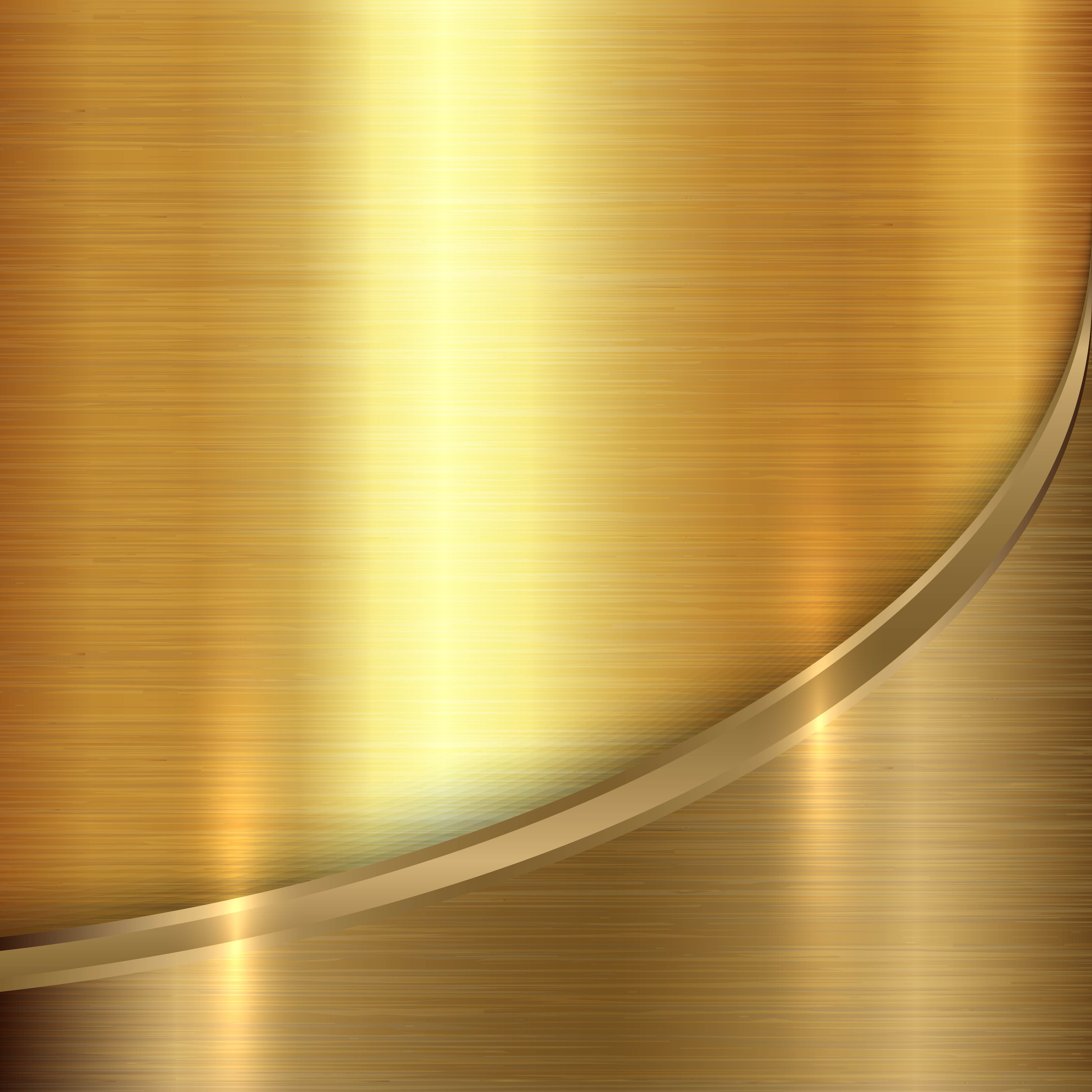 Gold Metal Background Texture Vector Material Gold