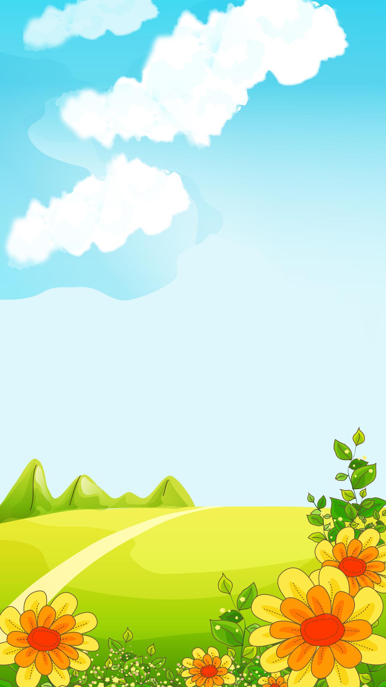 le ciel bleu le ciel bleu de dessins anim u00e9s de d u00e9cor de