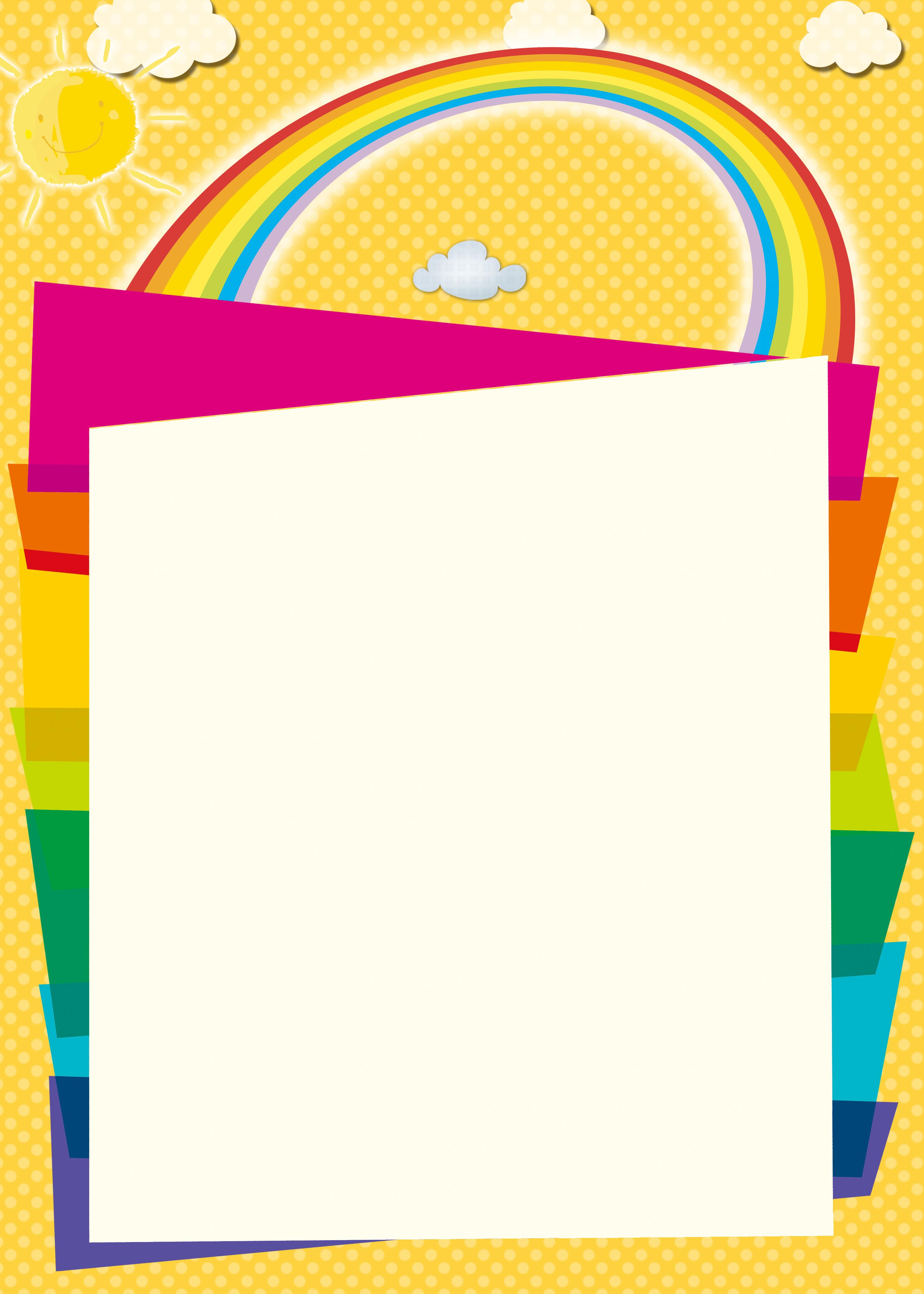 kindergarten brochures advertise flyers background