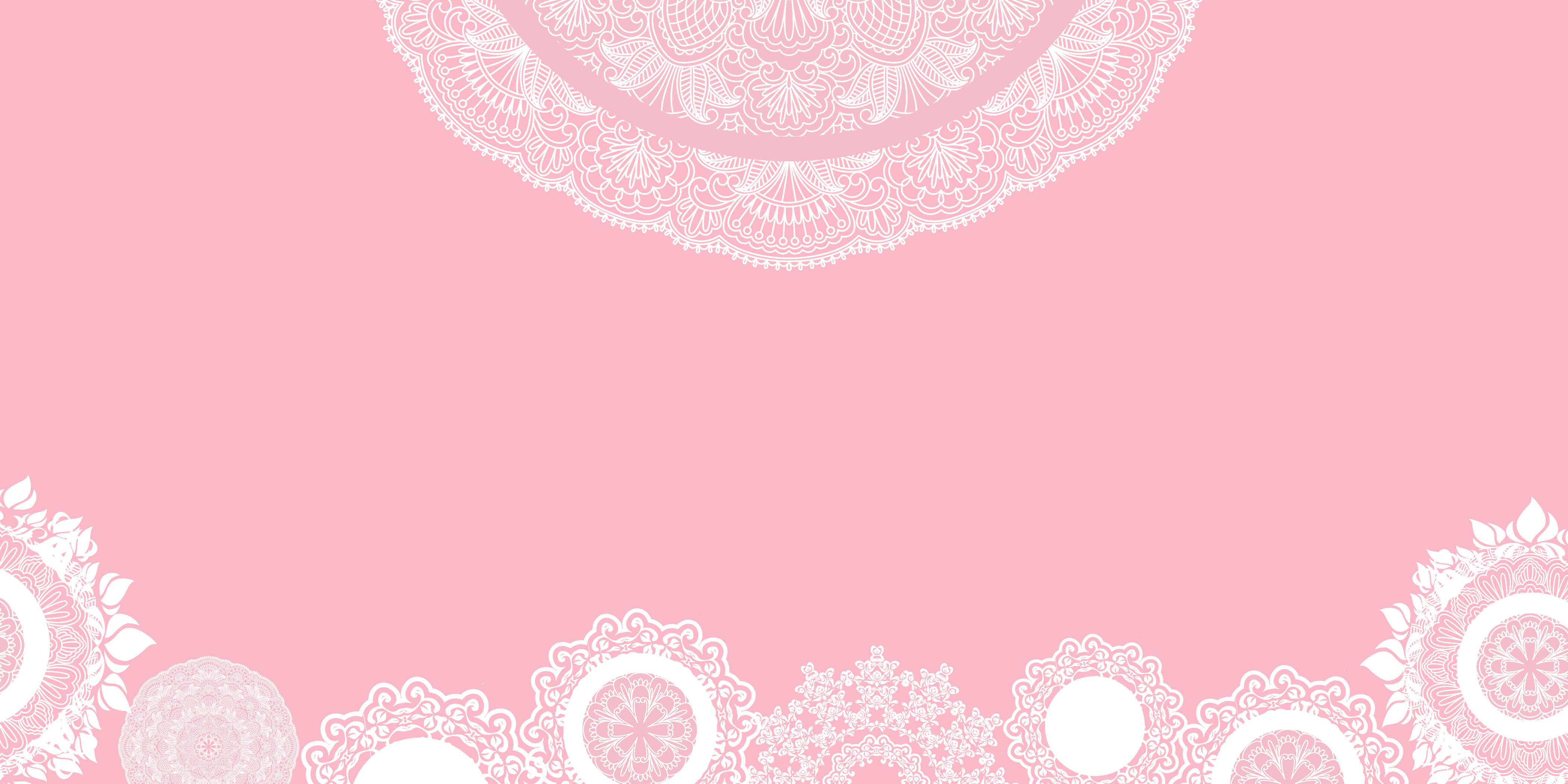 delicate pink lace festival background material