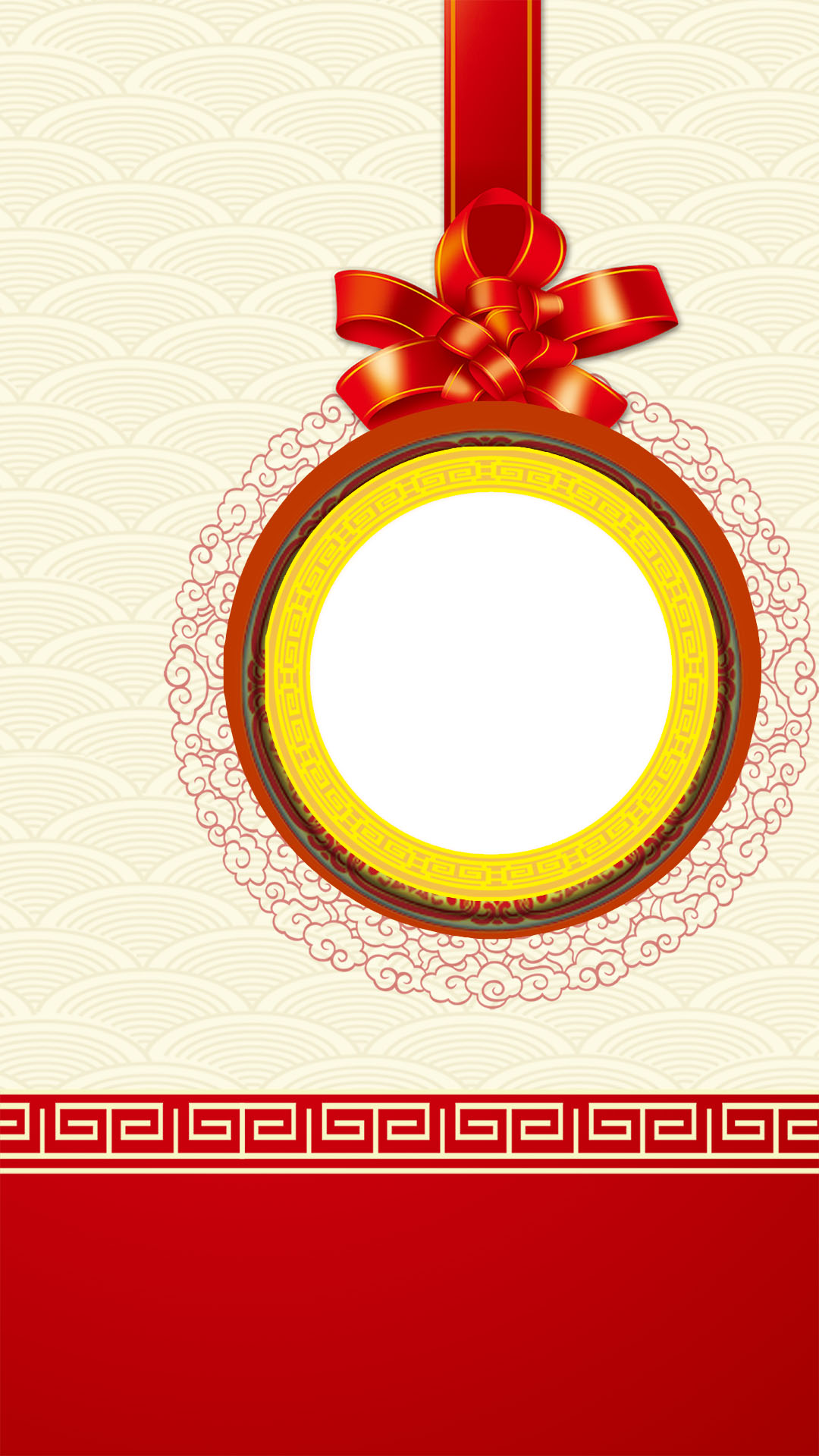 Simple Invitations Psd Layered H5 Background, Red, Simple, Colored ...