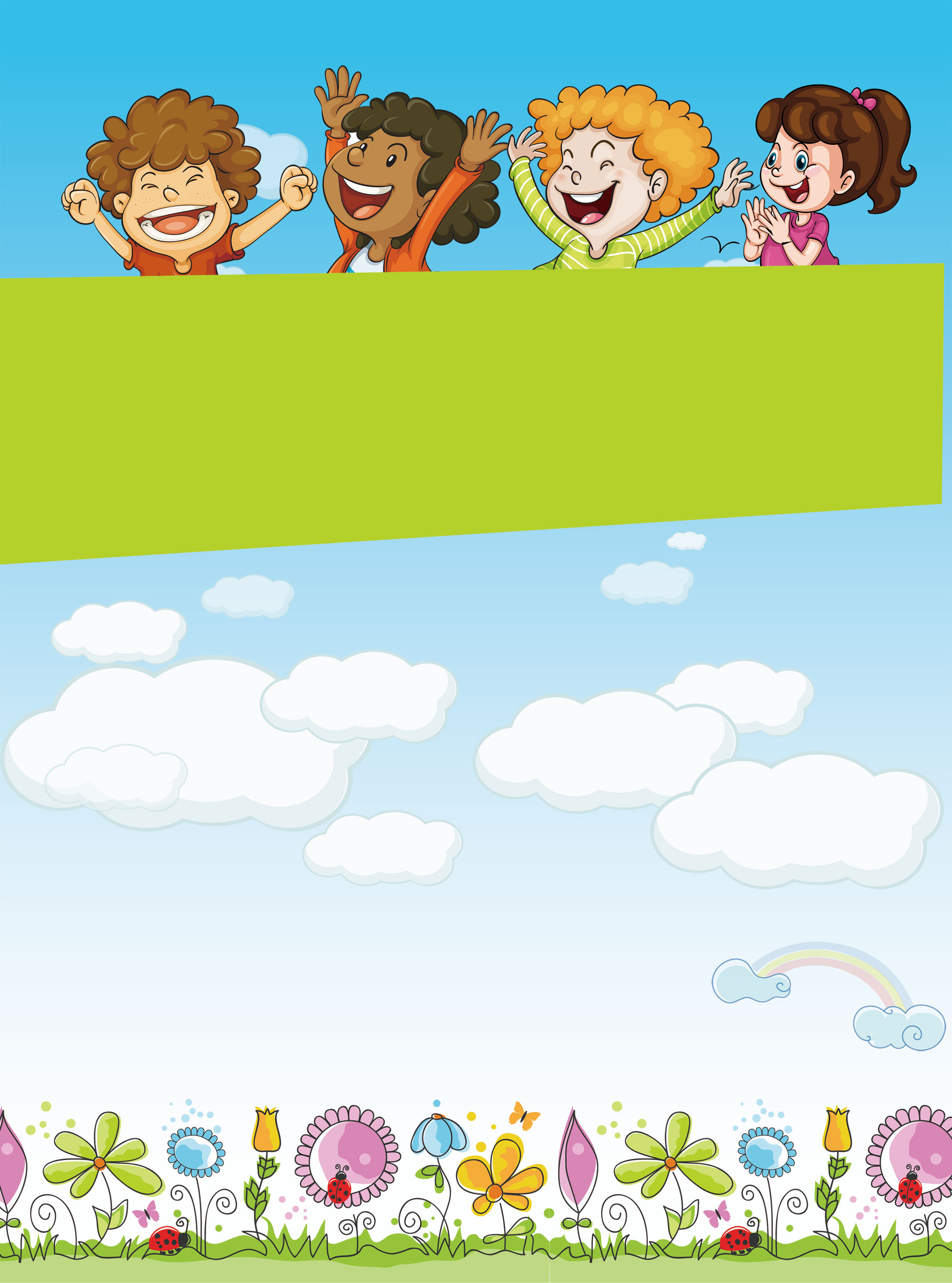 Childrens Day Background Image, Sixtyone, Childrens ...