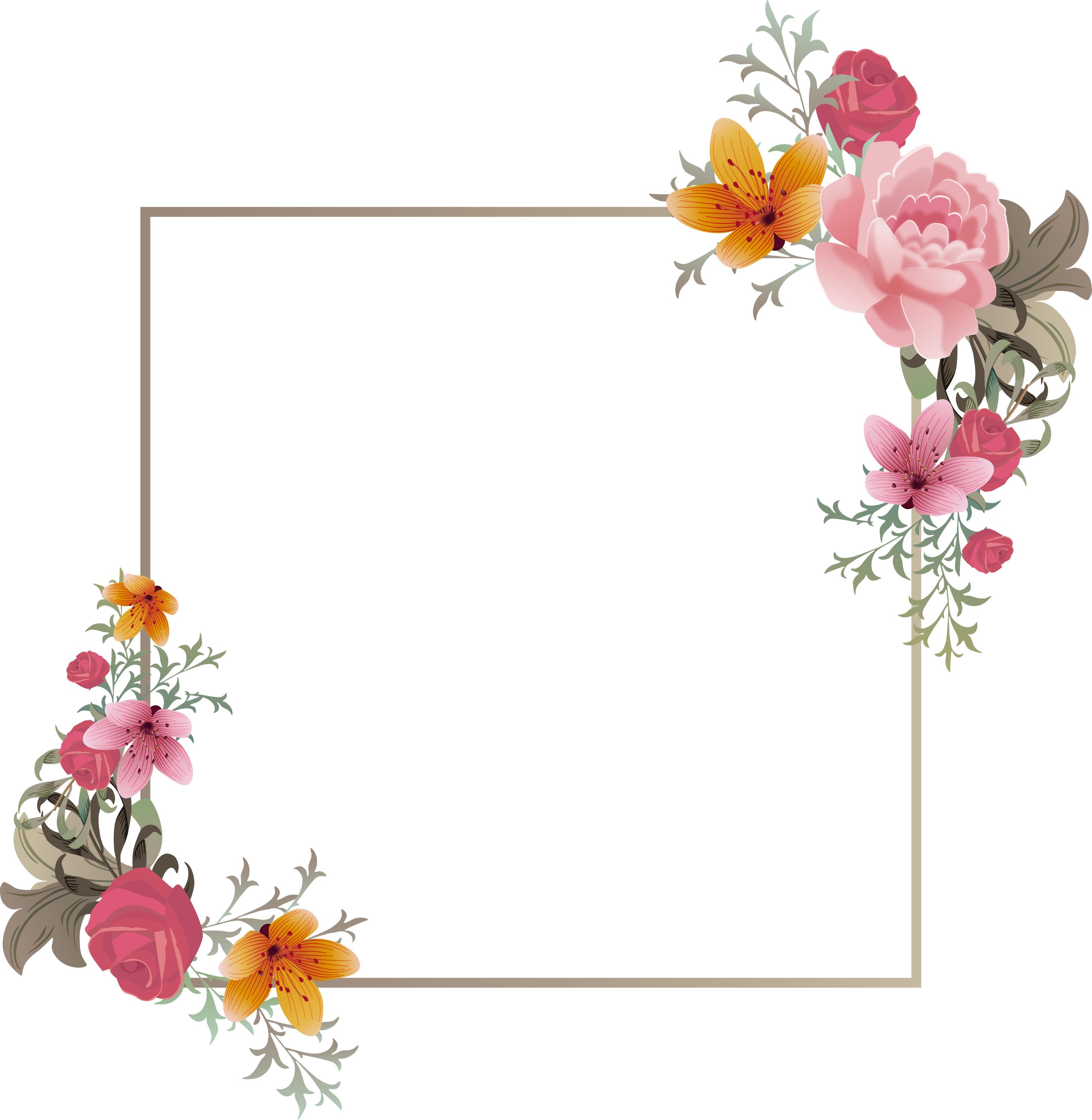 frame fotografia a representa u00e7 u00e3o floral background cria u00e7 u00e3o