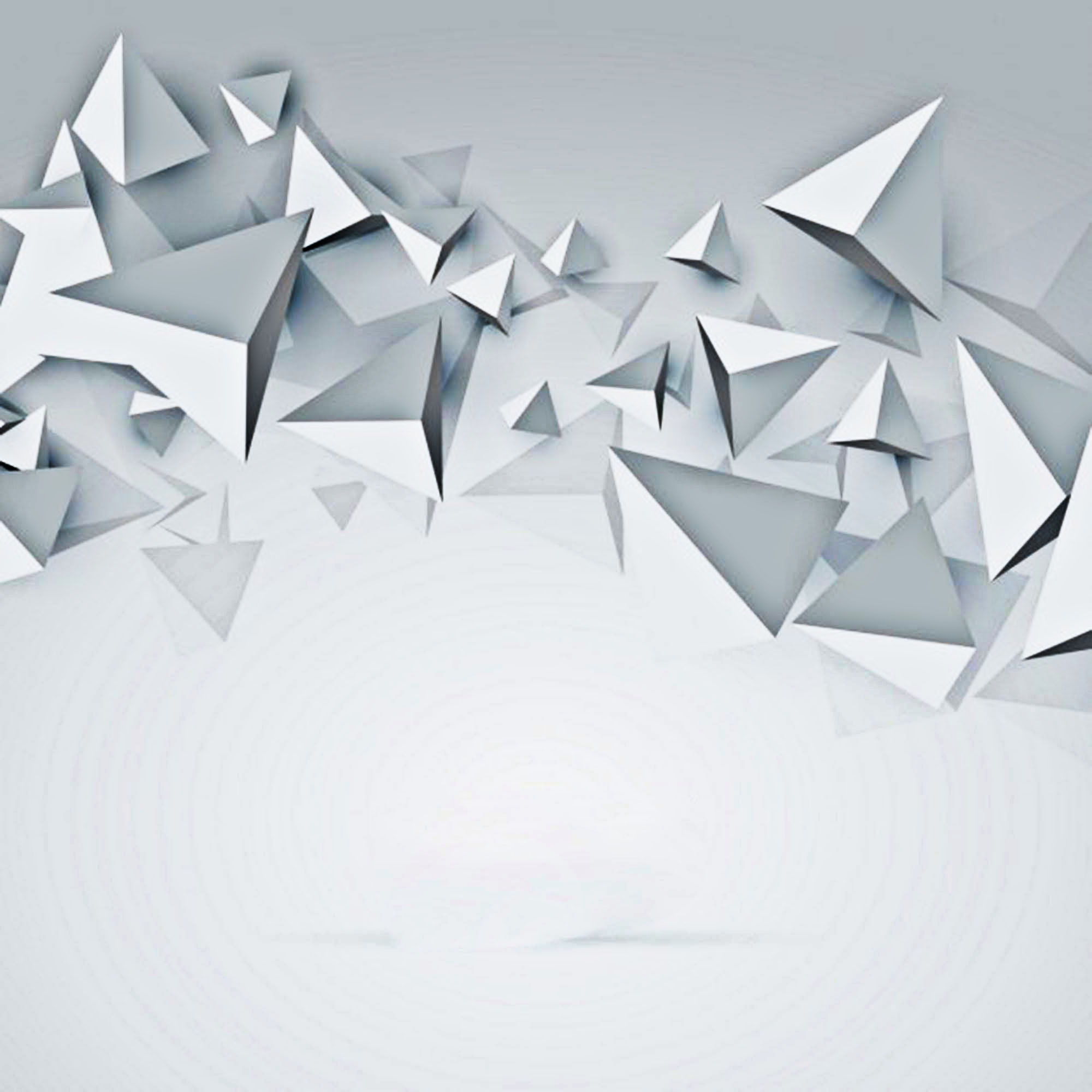 white background 3d polygon  white  polygon  geometry
