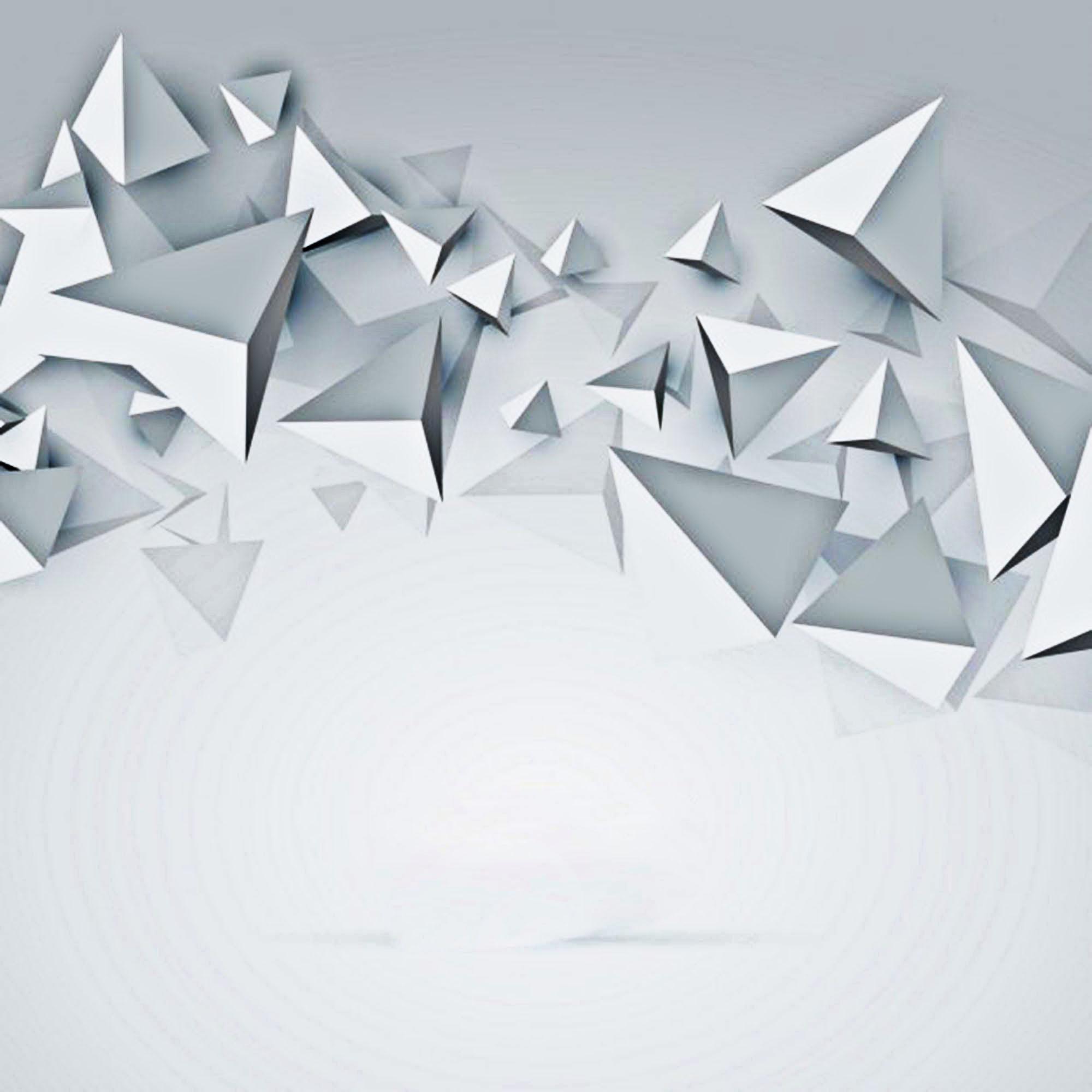 white background 3d polygon  white  polygon  geometry
